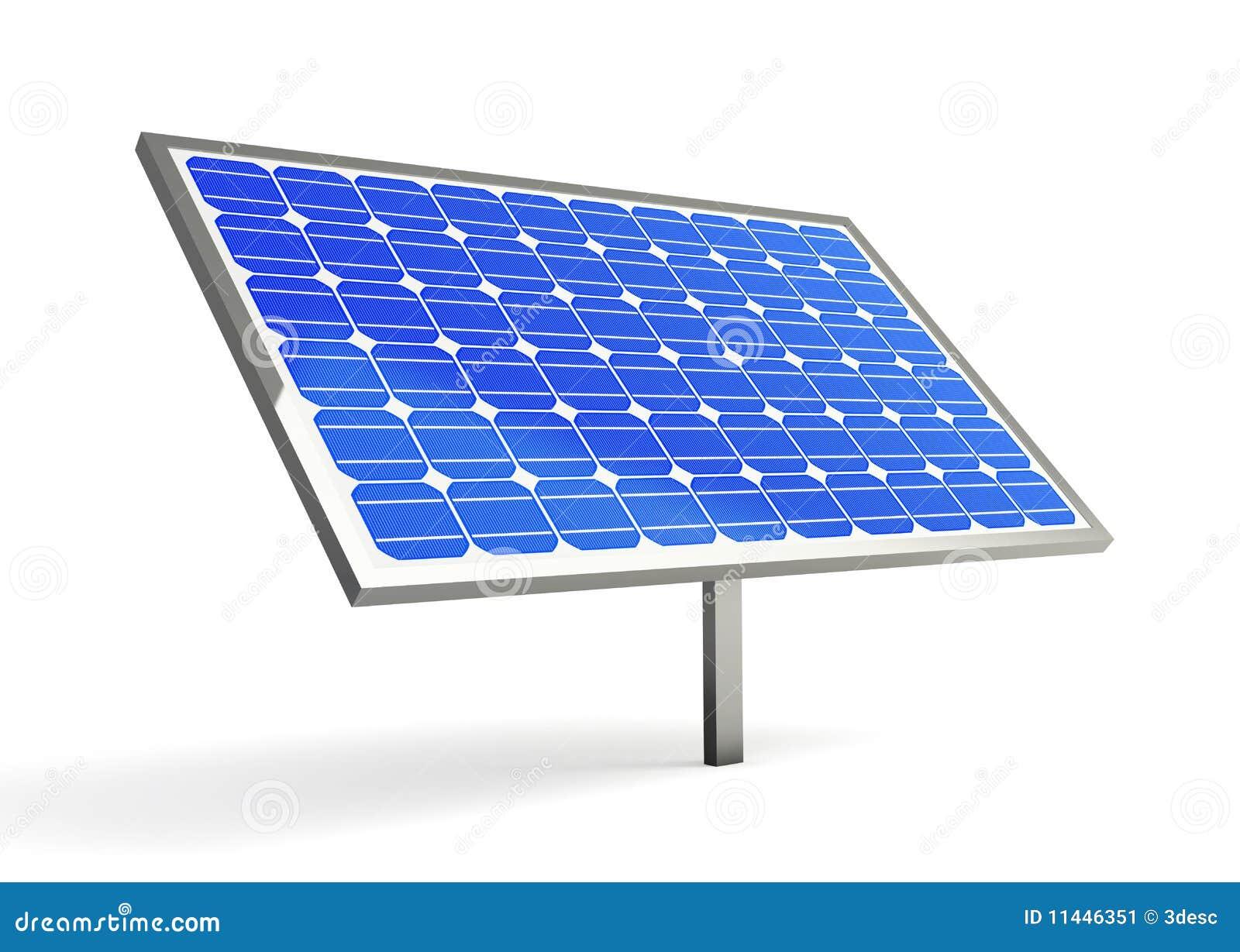 Solar Panel Stock Image - Image: 11446351