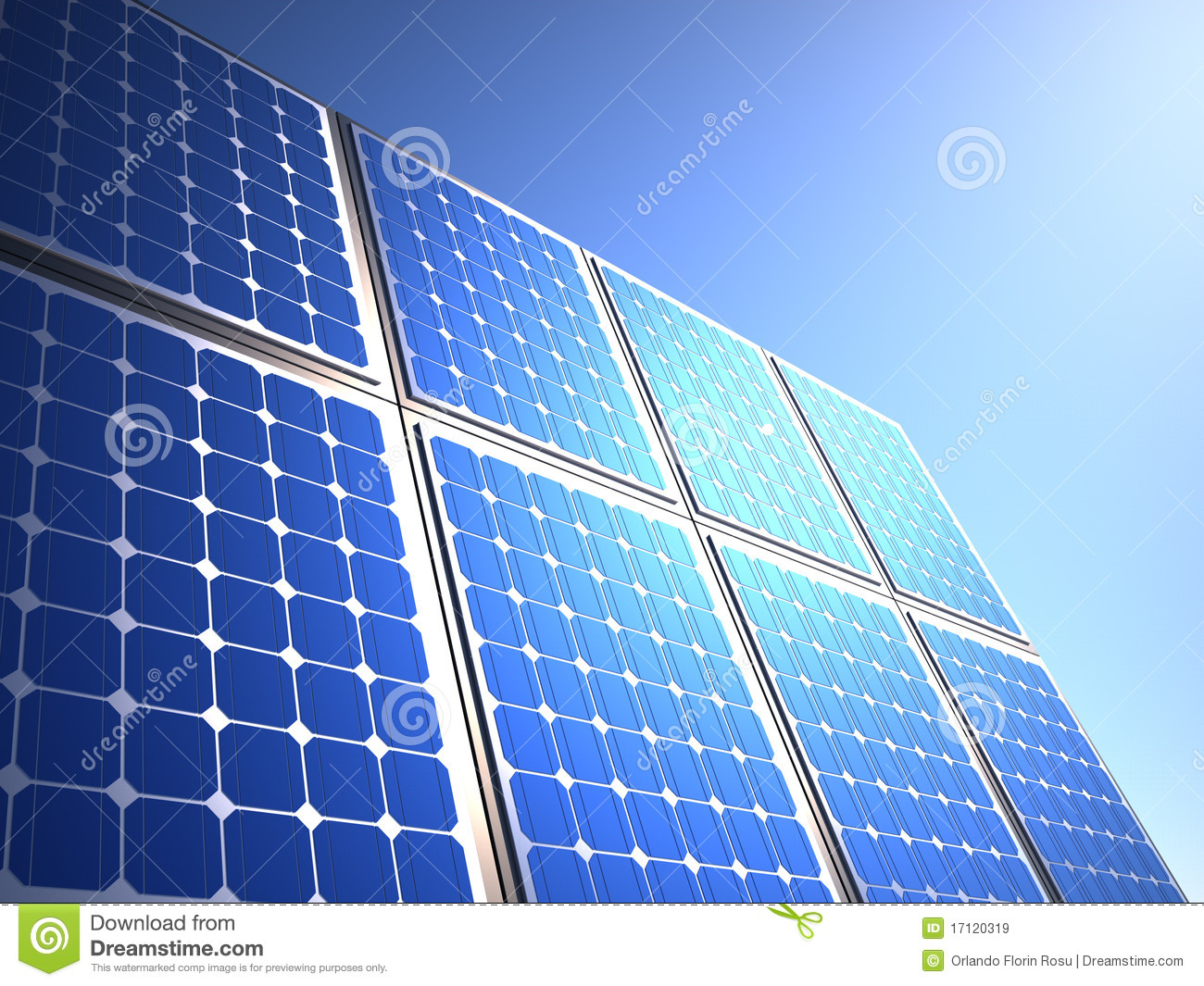 Solar Panel Royalty Free Stock Images Image 17120319