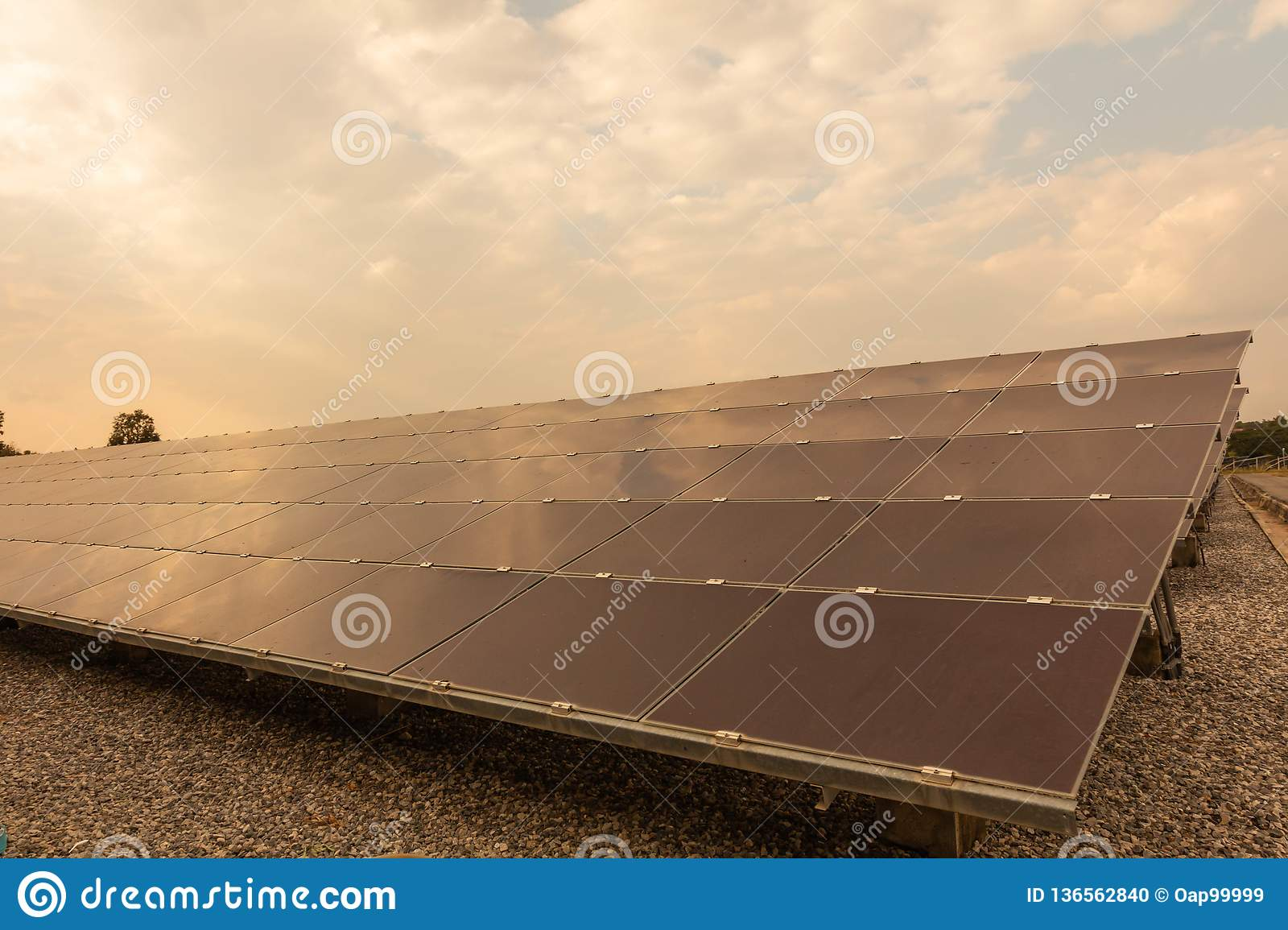 Solar panel, alternative electricity source - concept of sustainable resources, And this is the solar panel mono type