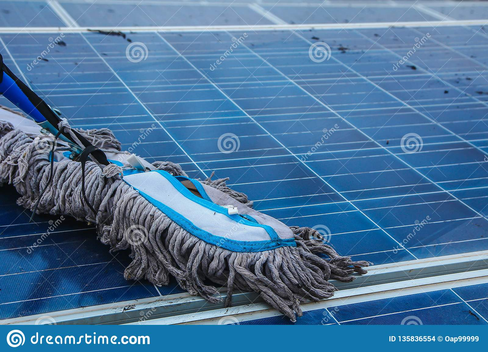 Solar panel, alternative electricity source - concept of sustainable resources, And this is a new system that can generate