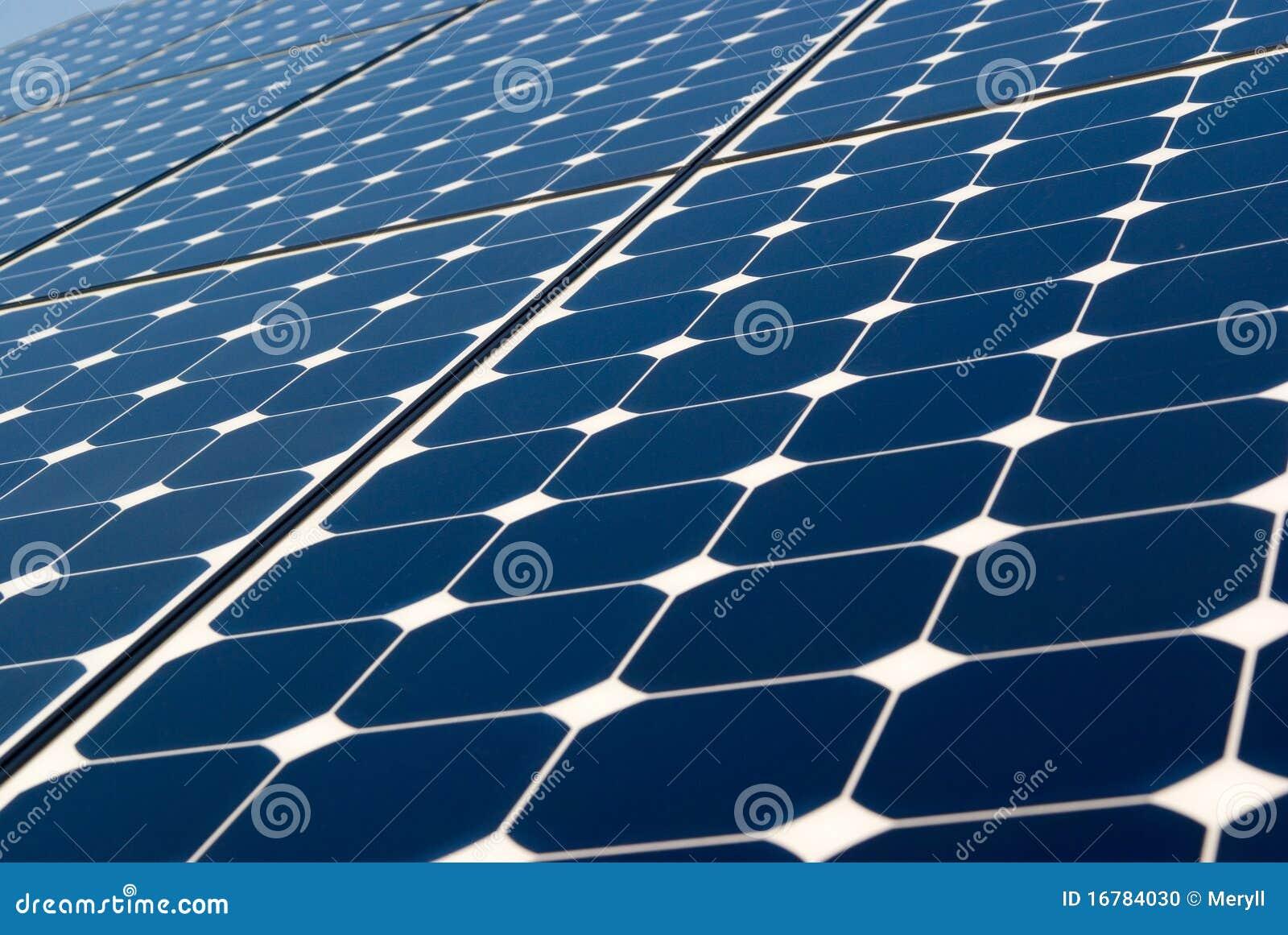 Solar Panel Background Stock Photo Image 16784030