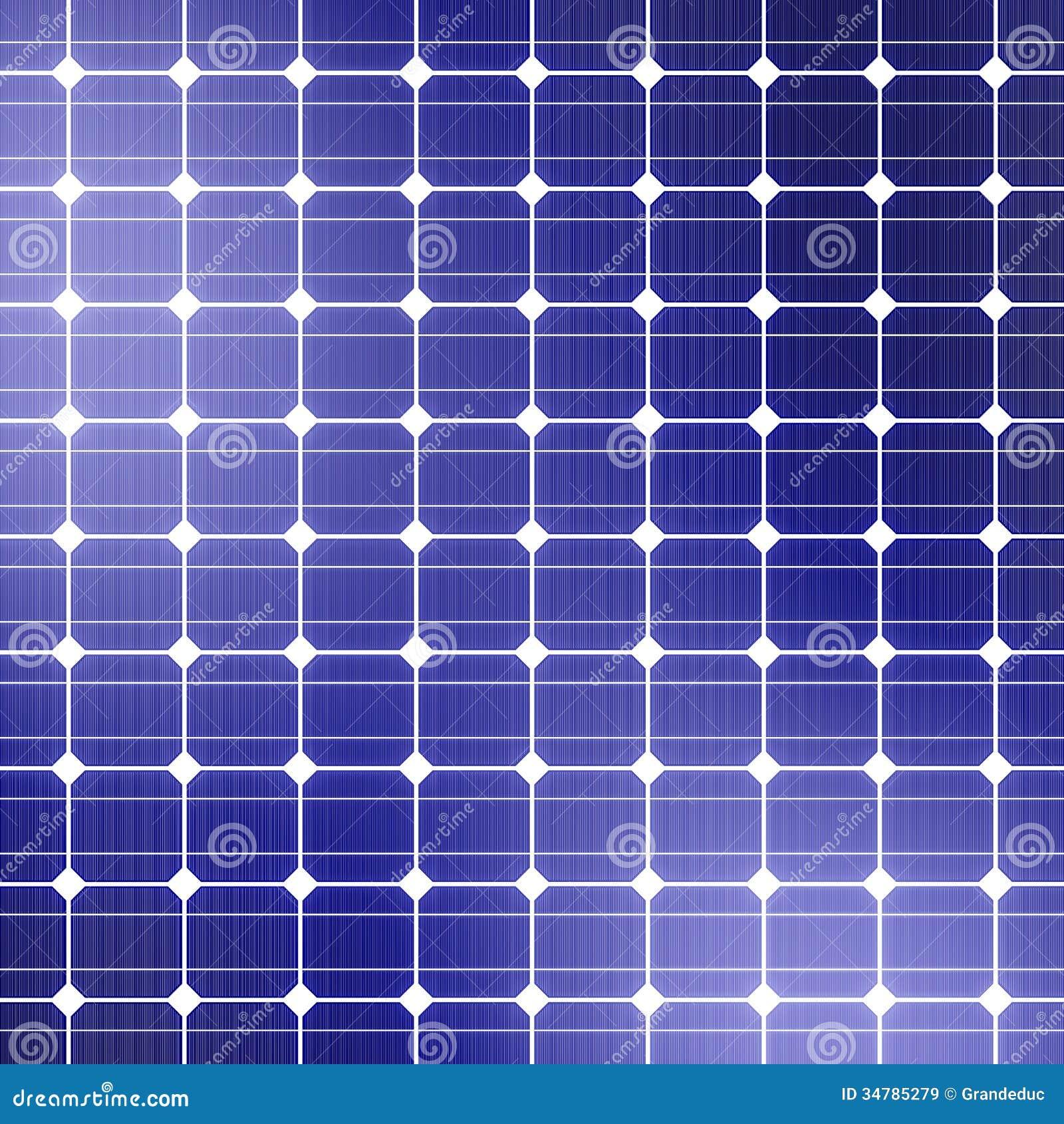 Solar Panel Background Stock Illustration Illustration Of