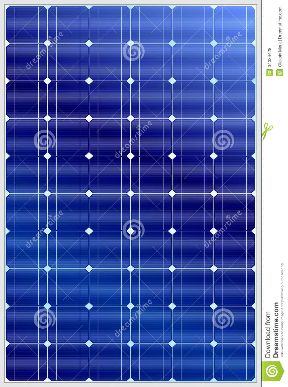 Solar Panel Royalty Free Stock Photos Image 34336428