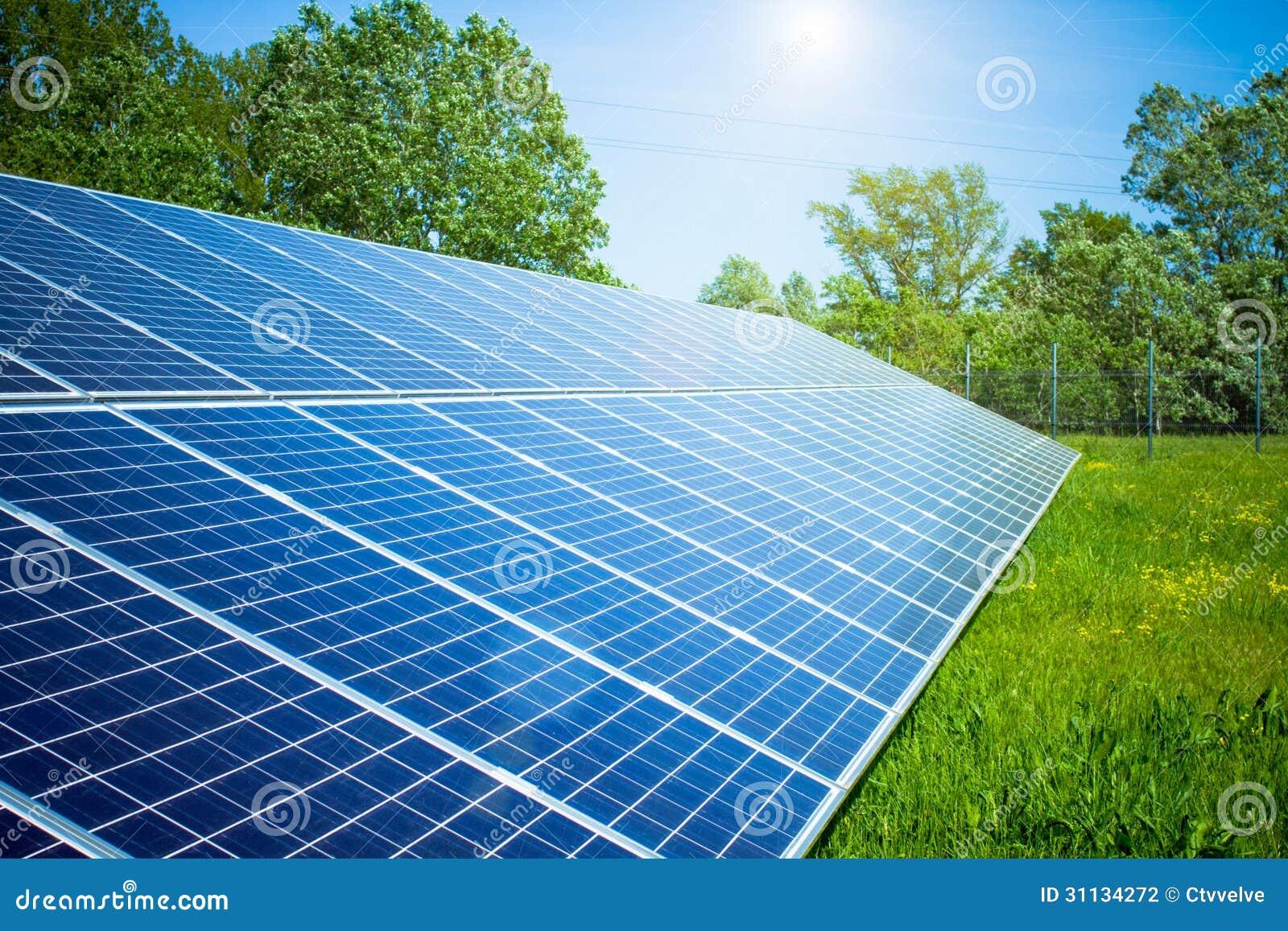 solar panel stock photography image 31134272