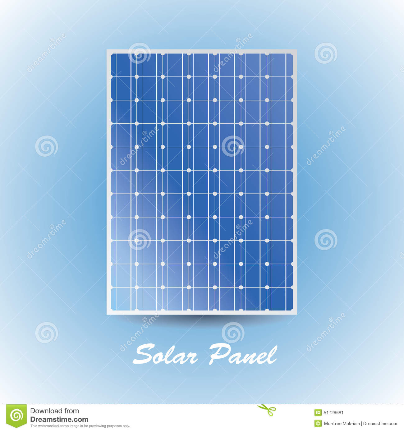 Stock image solar panel image 51728681 for Solar panel layout tool