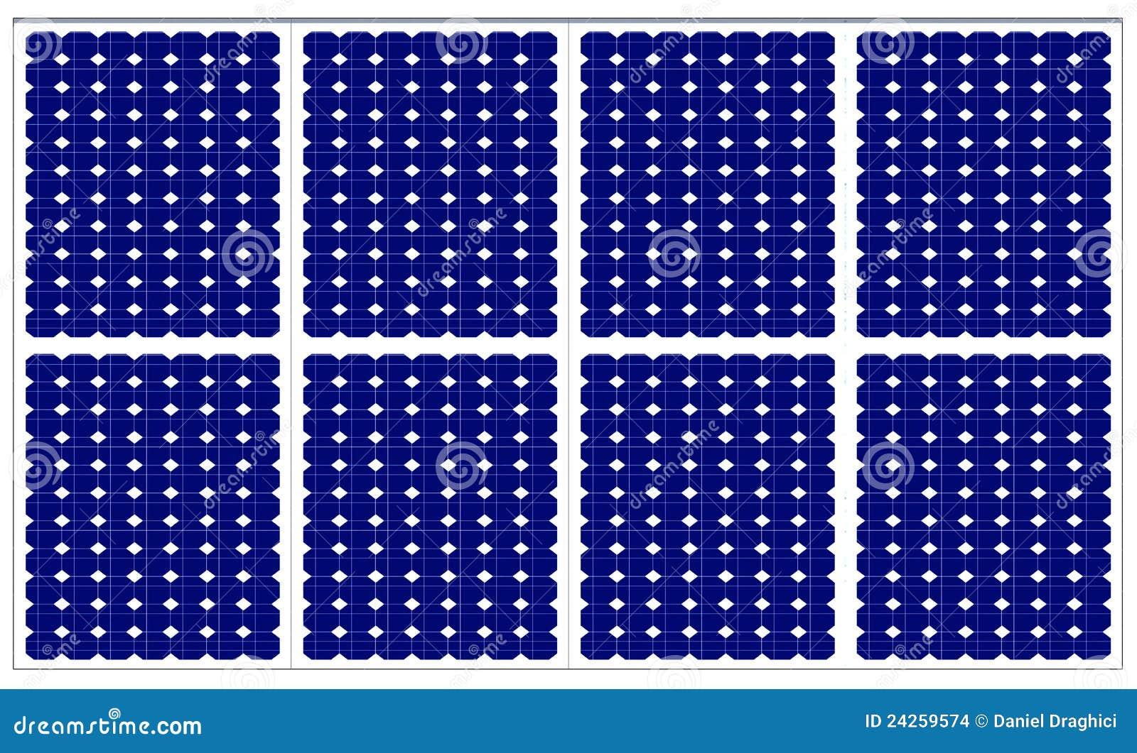 Solar Panels Stock Illustration Illustration Of
