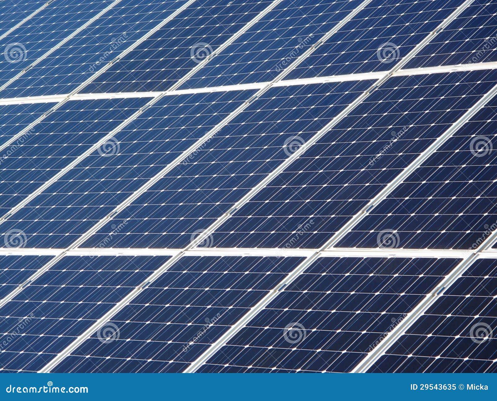 Detail of big solar panel at barcelona spain royalty free - Solar barcelona ...