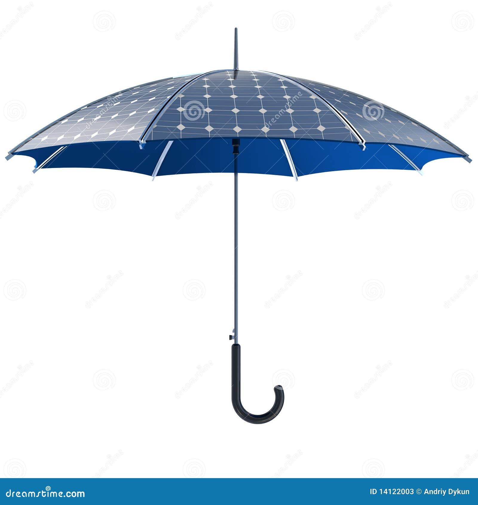 Solar Photovoltaic Umbrella Stock Photos Image 14122003