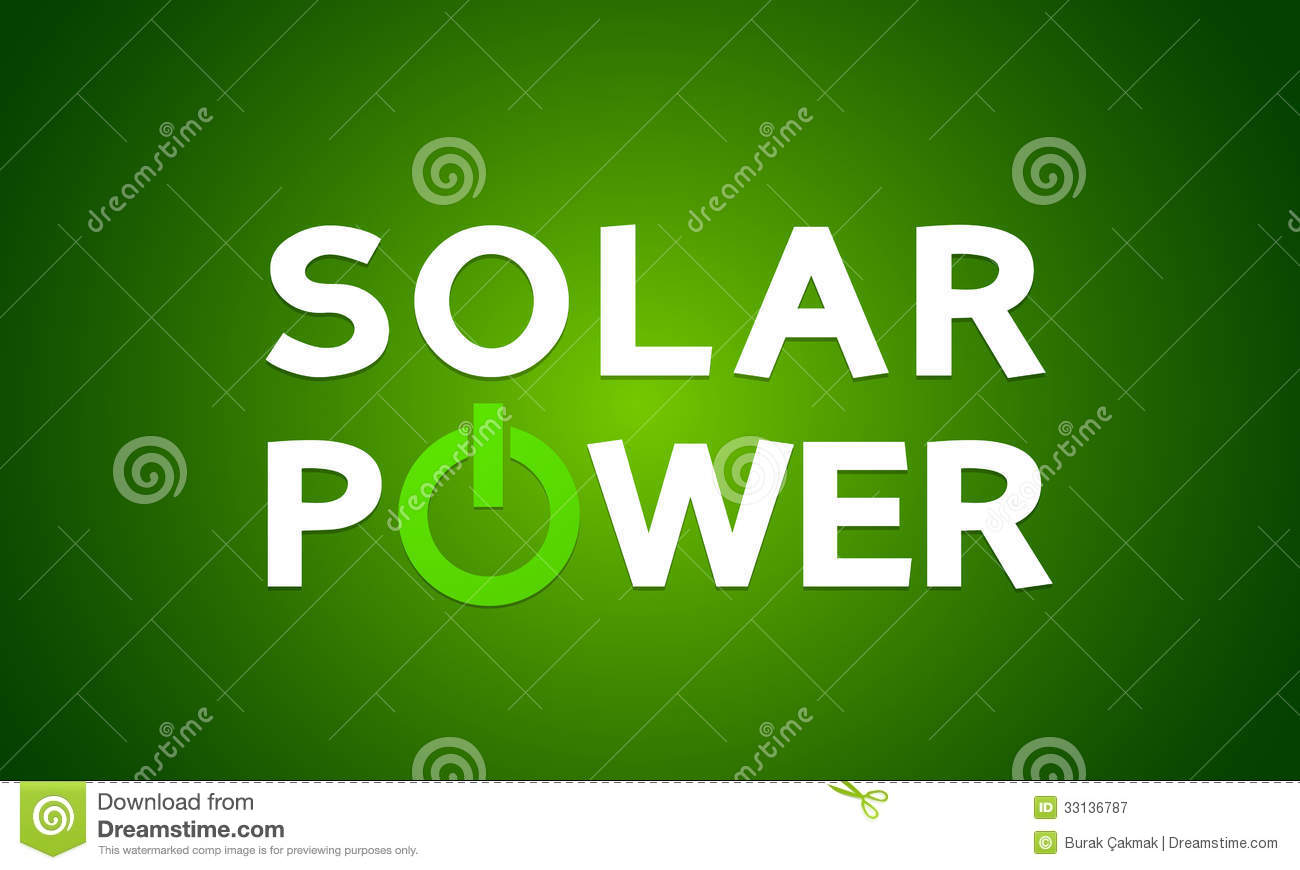 Solar Power Energy Concept Royalty Free Stock Photography - Image ...