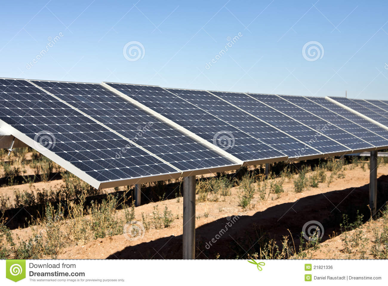 Solar power panel energy farm stock photo image 21821336 for Solar ranch