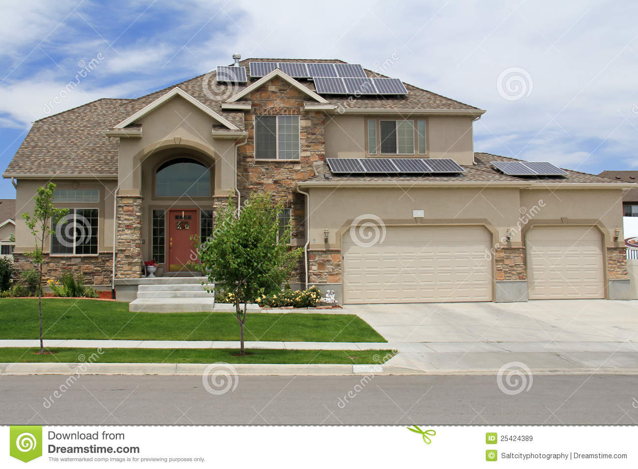 solar powered stock tank stock photo image 43064498