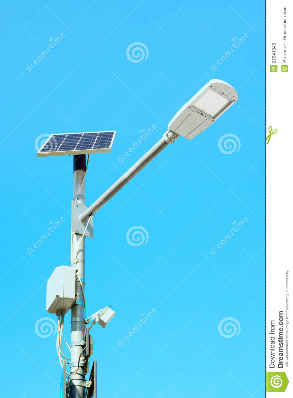 solar powered street lights business plan