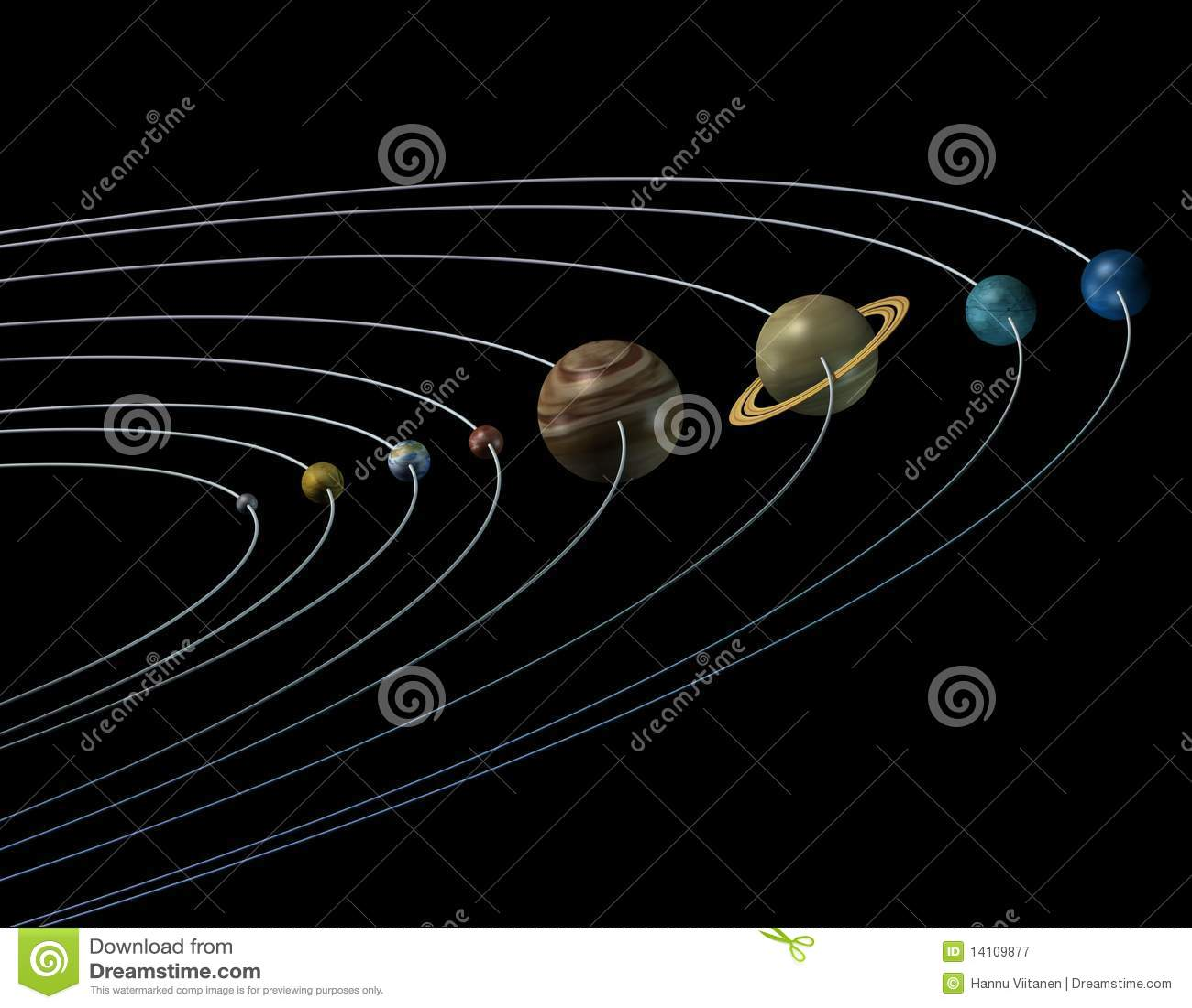 solar system orbits 3d - photo #28
