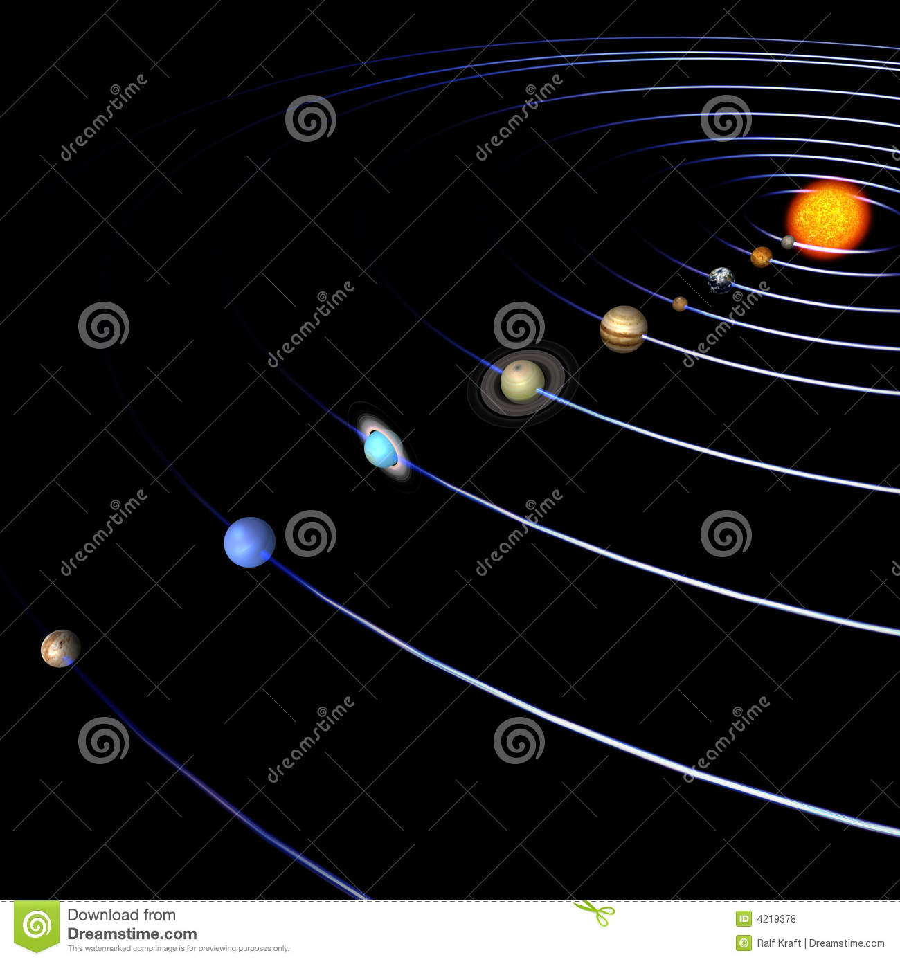 solar system paths - photo #23
