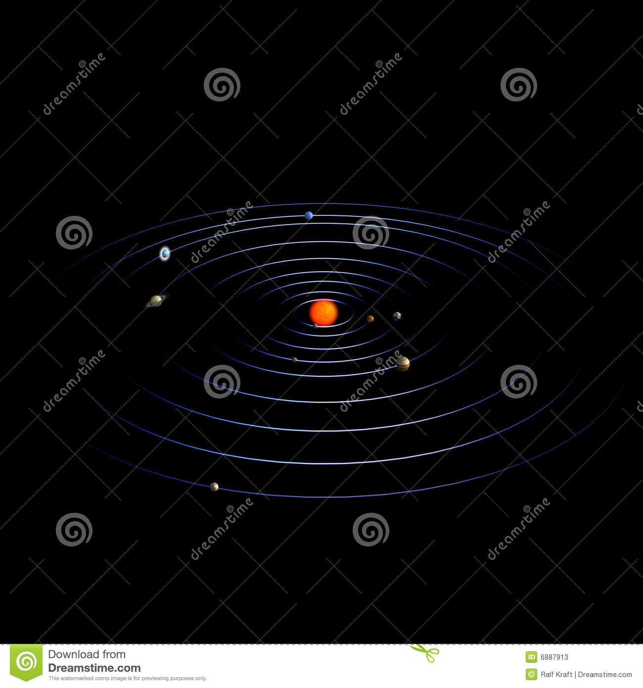 solar system paths - photo #35