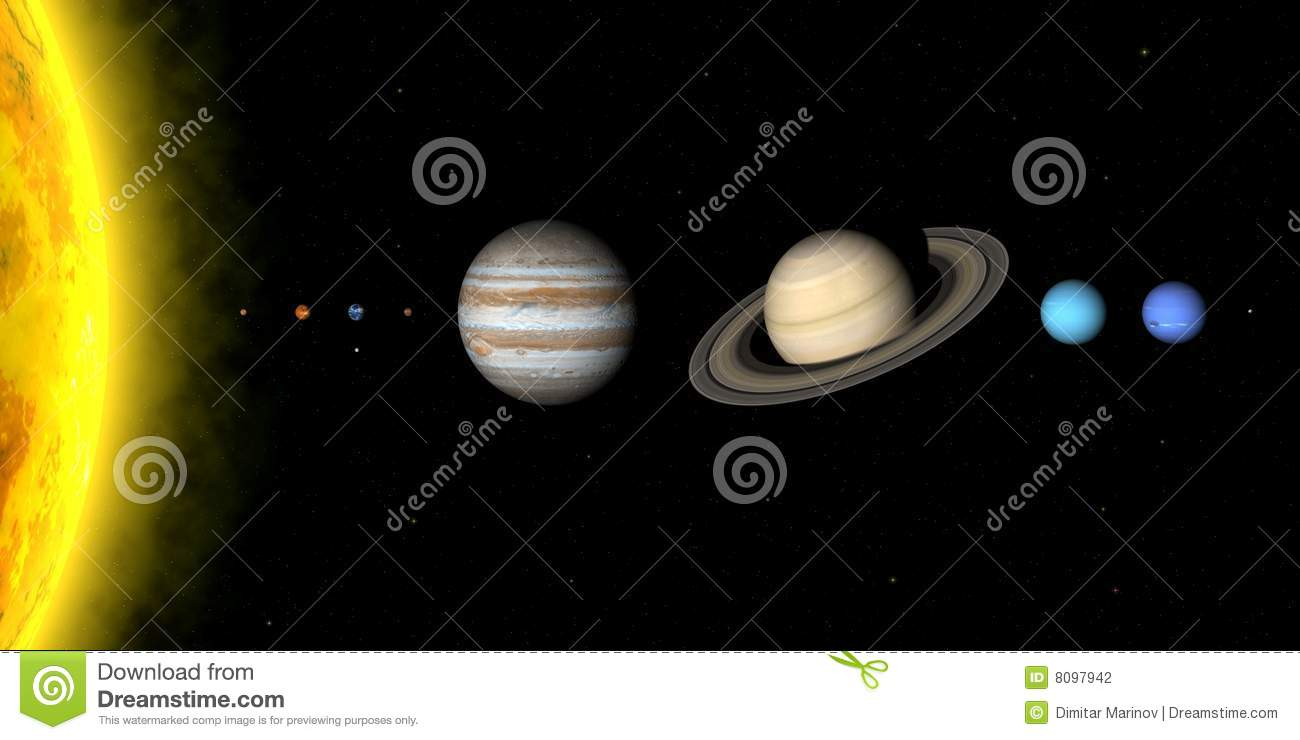 solar system relative distances in - photo #37