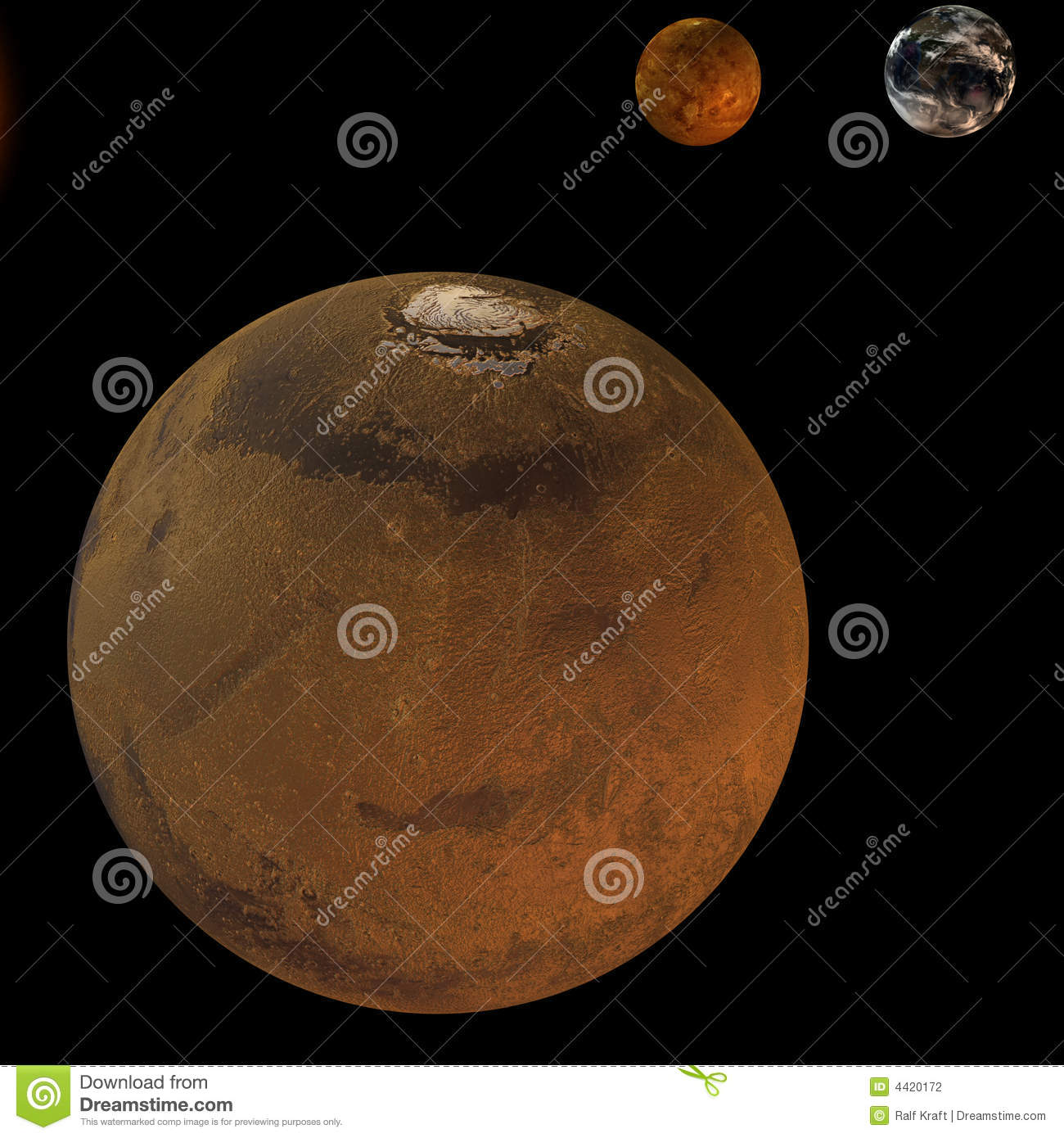 solar system earth and mars - photo #48