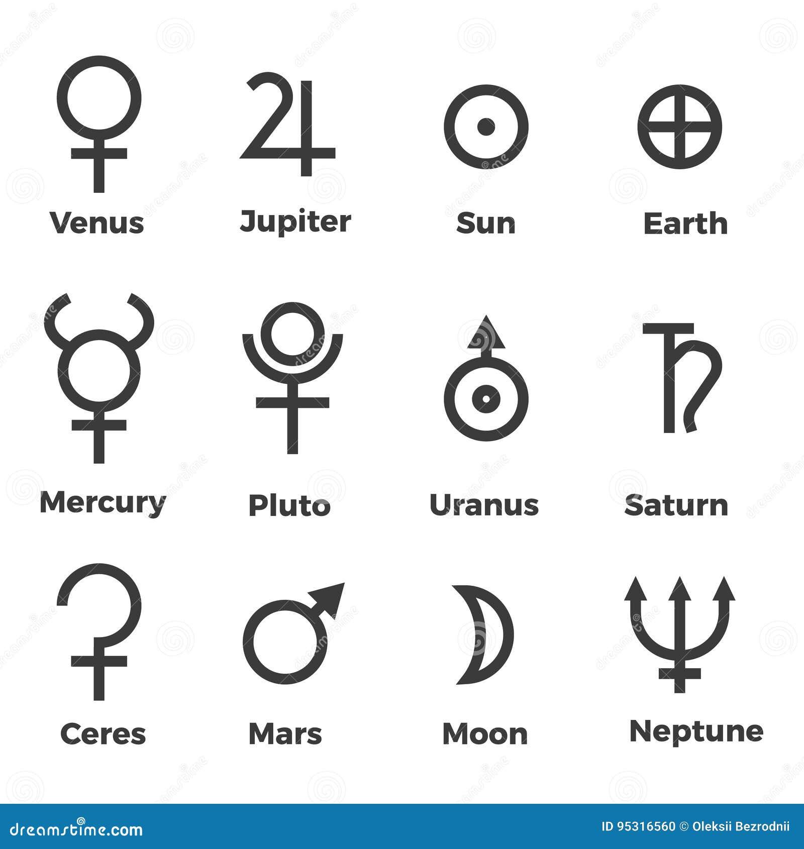 Solar system symbols gallery symbol and sign ideas solar system planets icons set symbols stock vector illustration solar system planets icons set symbols buycottarizona buycottarizona