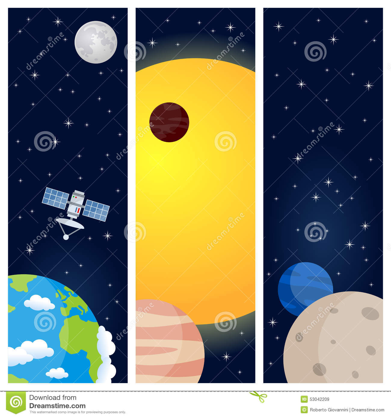 solar system poster vertical - photo #21