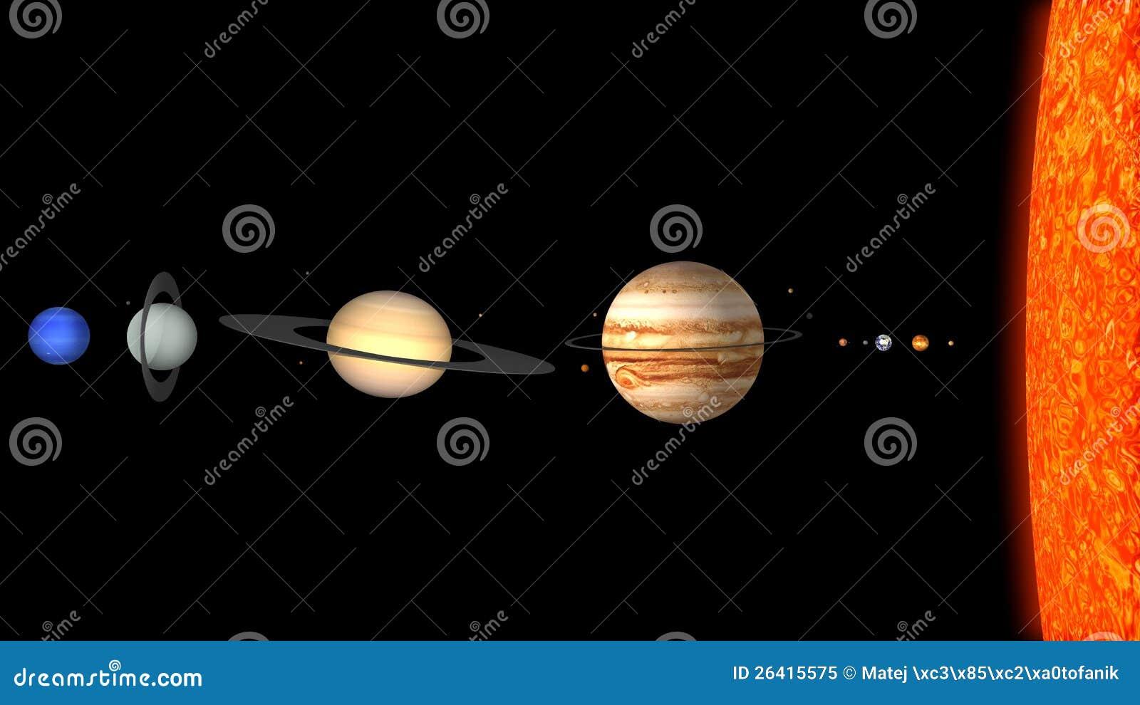solar system dimensions - photo #46