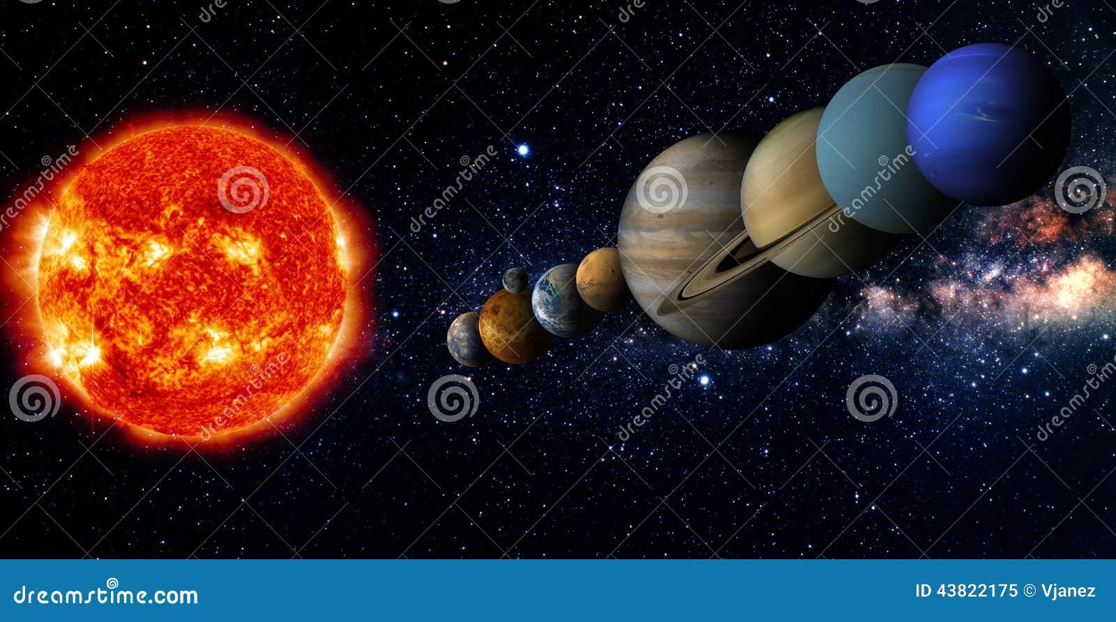 its nine planets and sun - photo #19