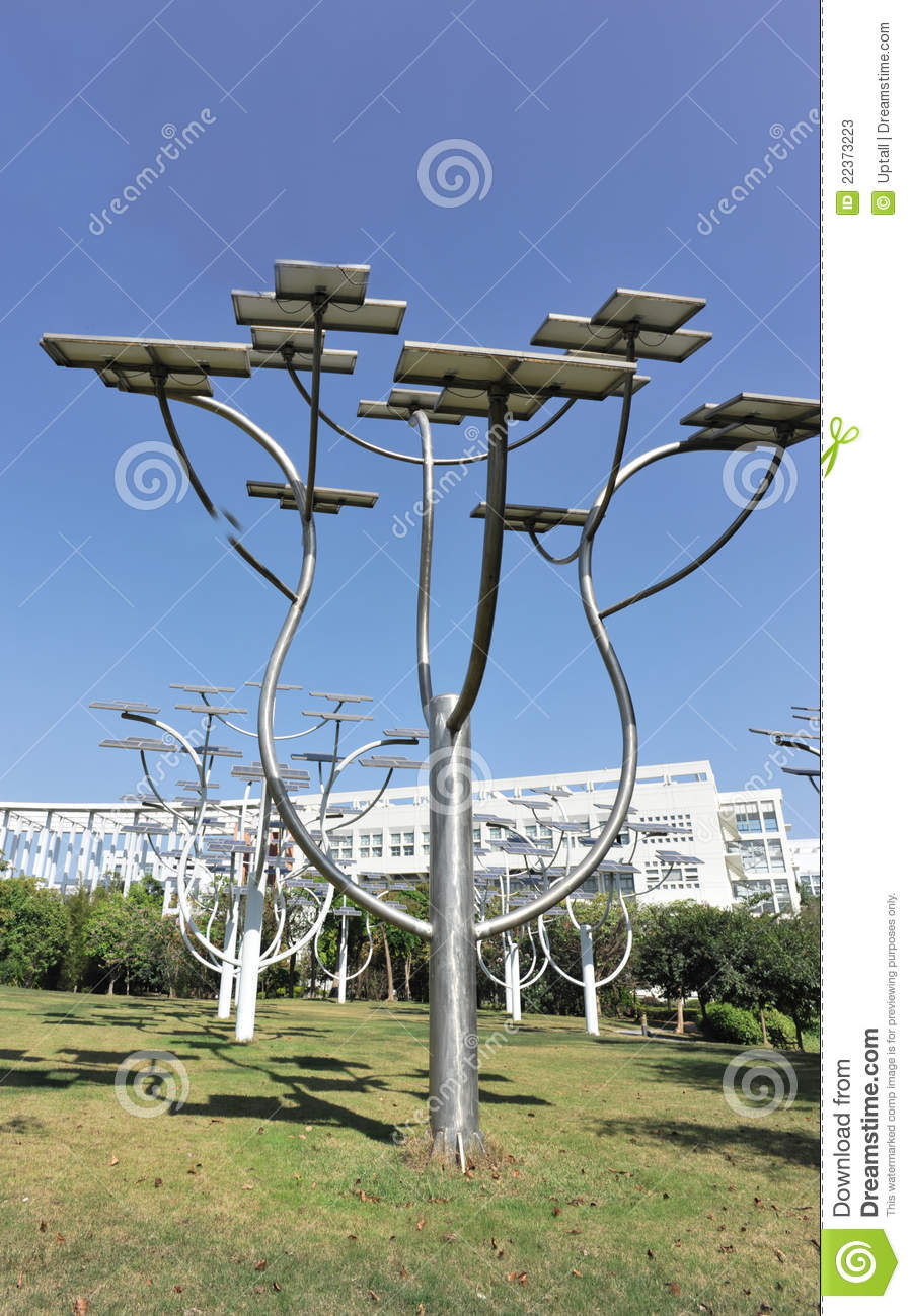 Solar by tree structure