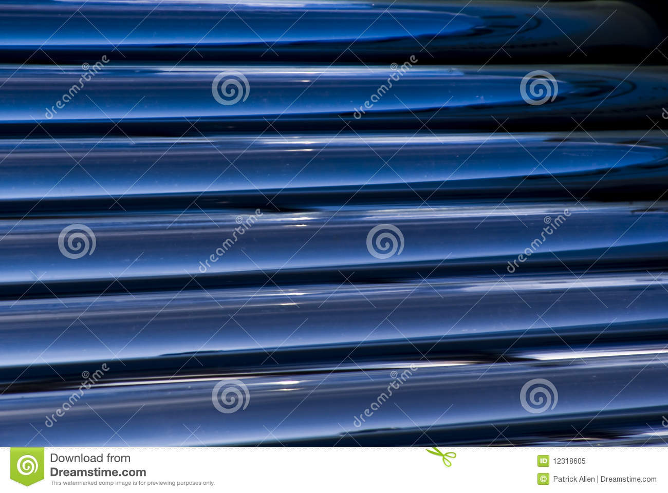Solar Water Heater Evacuated Glass Tubes Detail