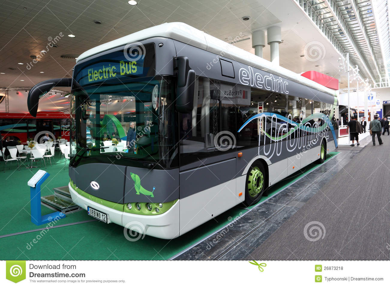 Solaris Urbino 12 Electric Bus