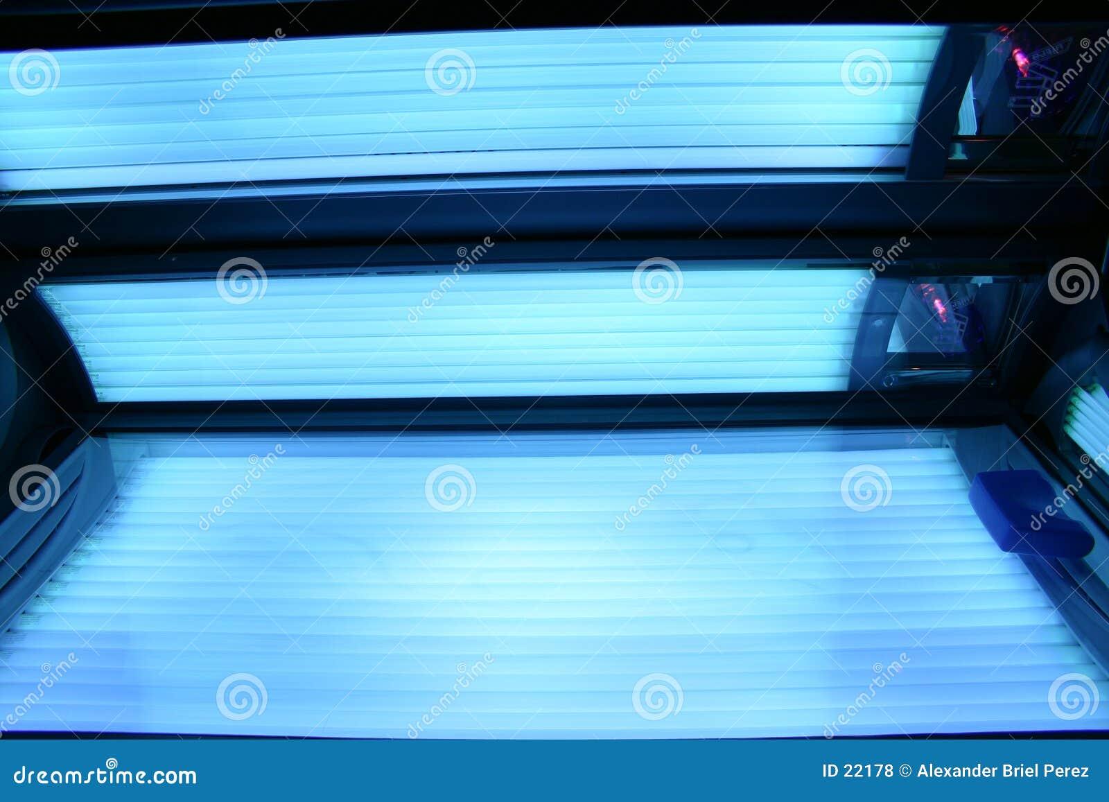 Solarium eingeschalten