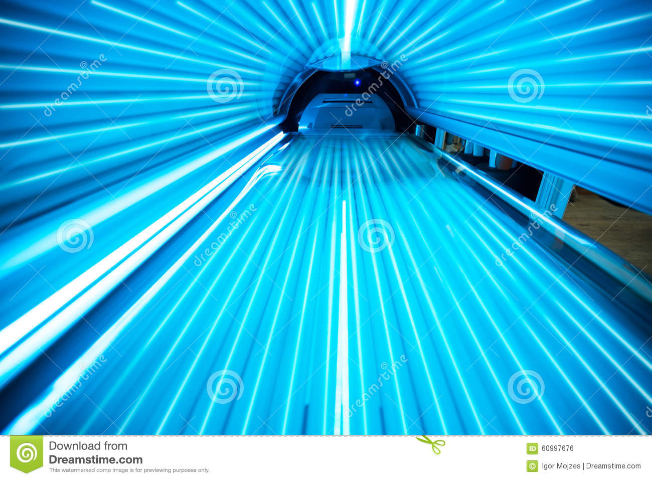 Solarium Tanning Bed Stock Photo Image Of Light Modern