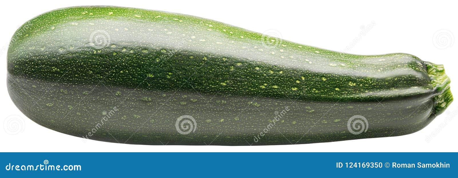 Solated zucchini Två zucchini eller zucchinier som isoleras på vit