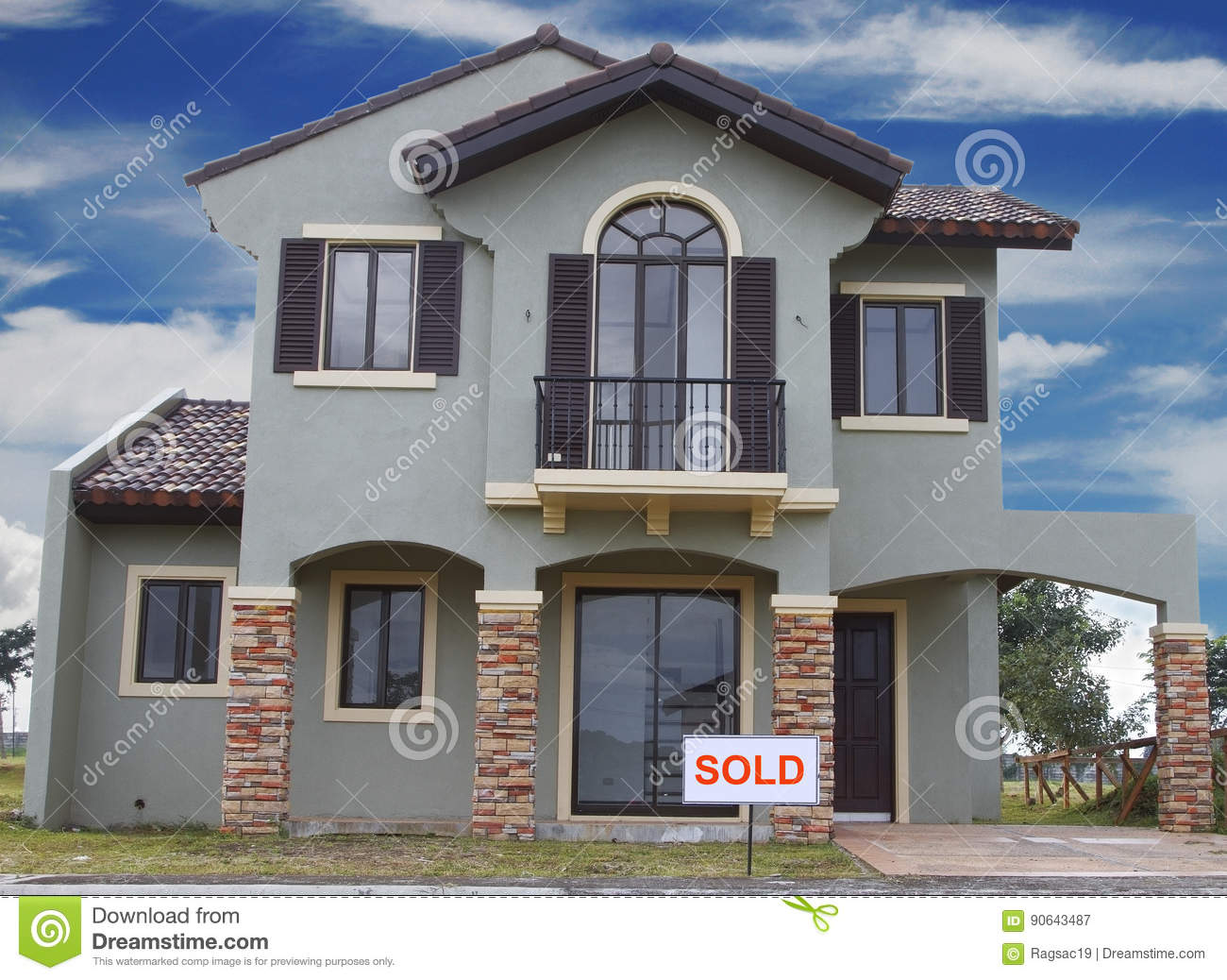Sold Stock Image Image Of Rent Home Sale House