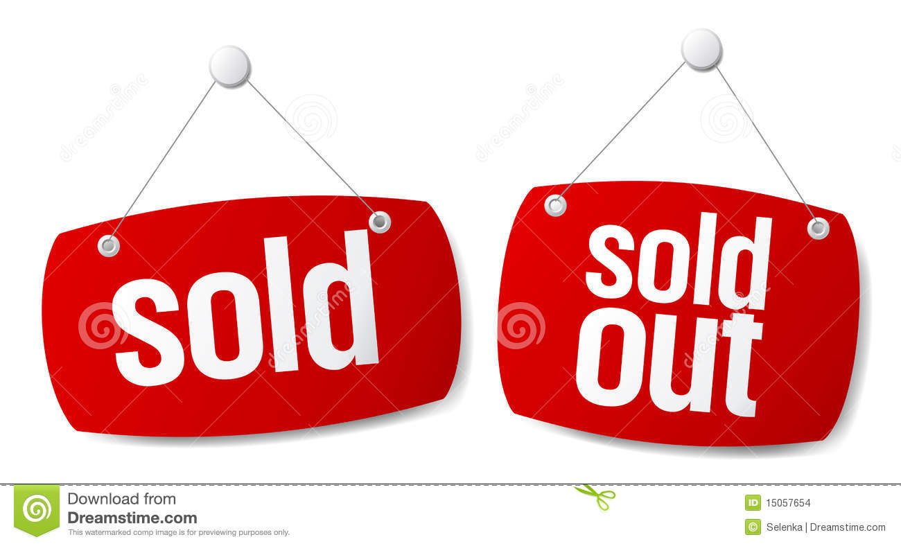 Sold Signs Stock Images - Image: 15057654
