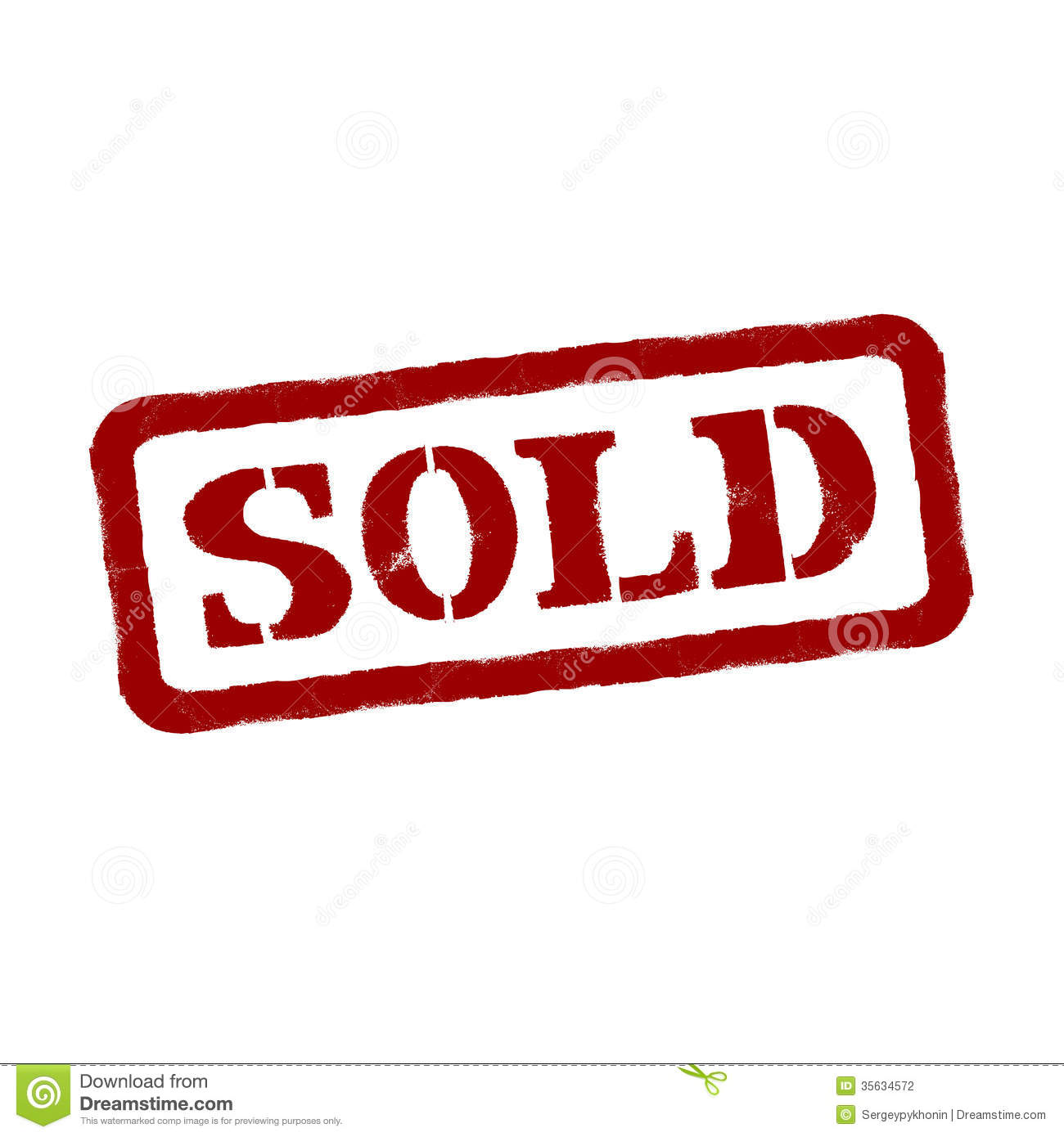 Sold Vector Format Stock Photography Image 35634572