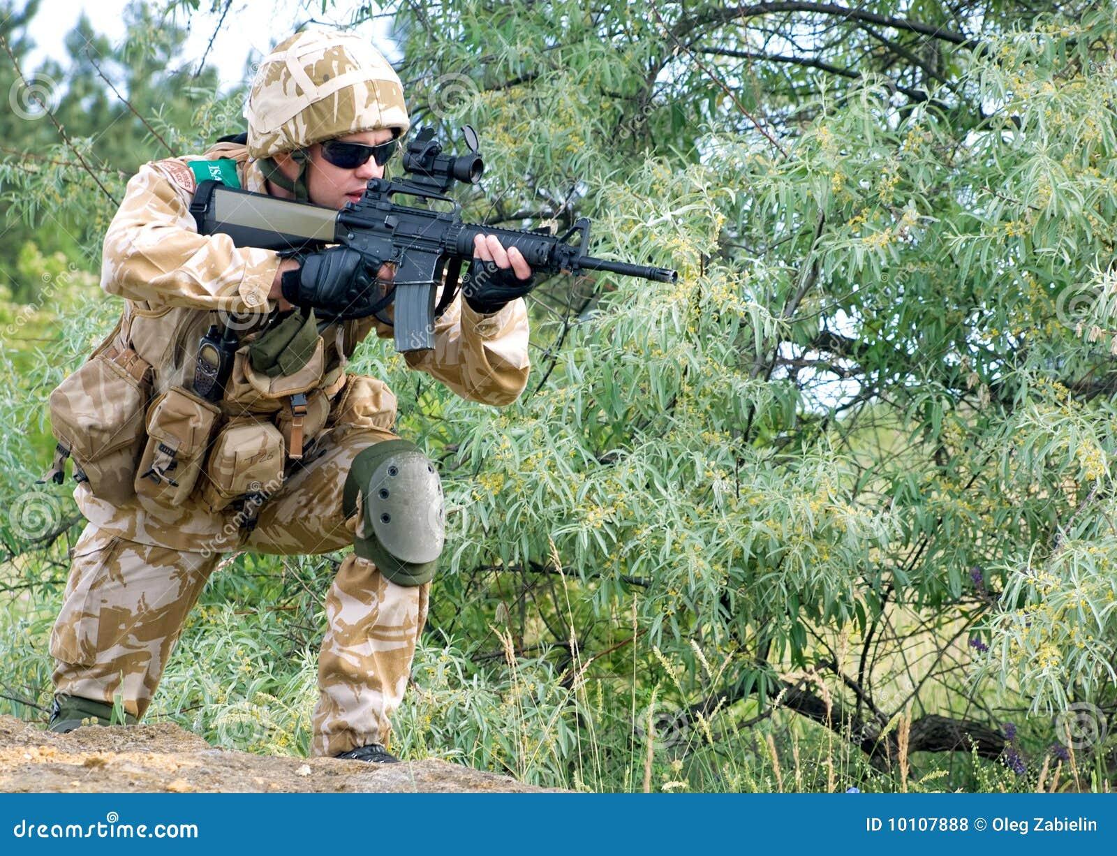 Soldado británico