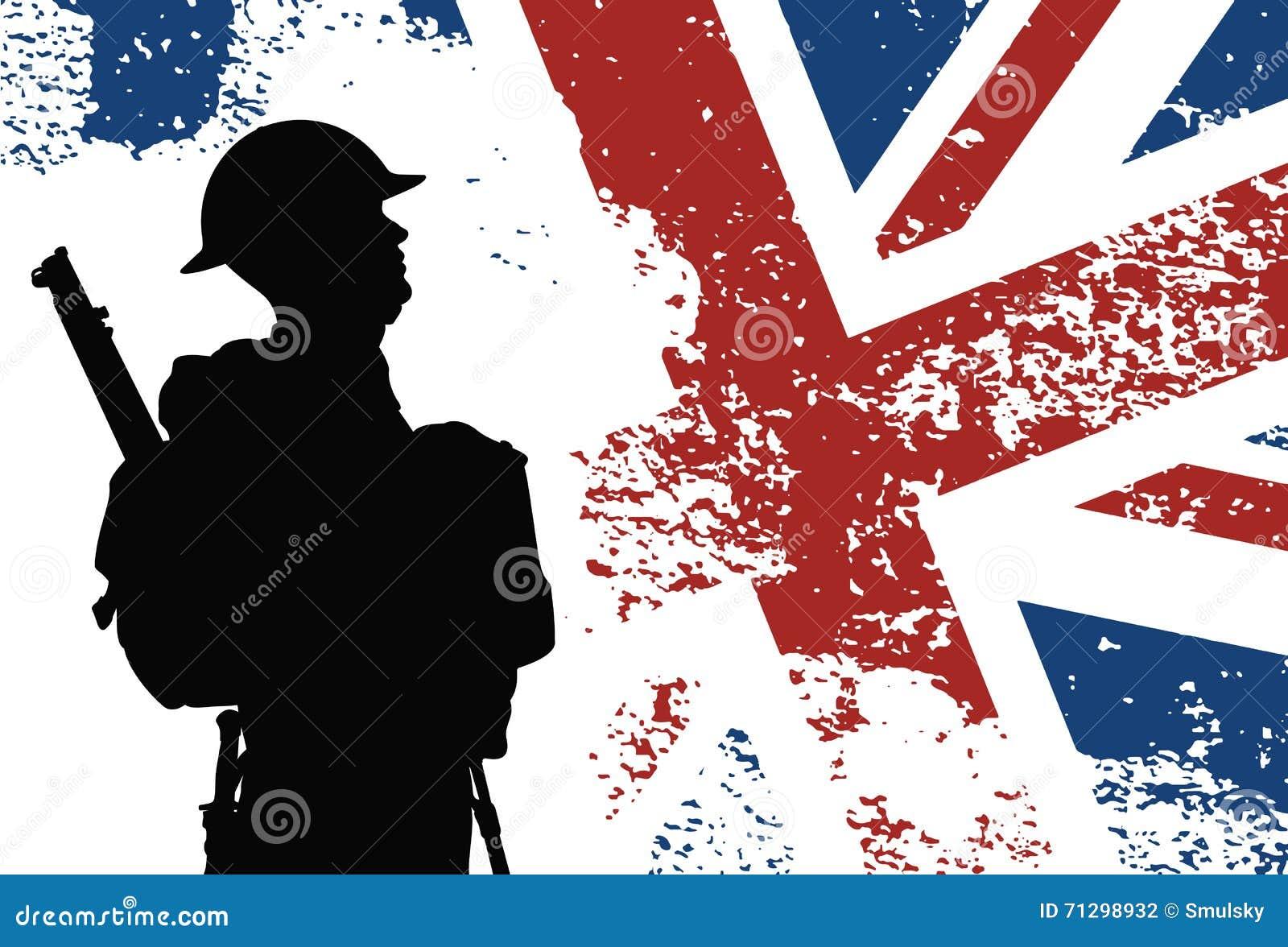 Soldado británico WWII