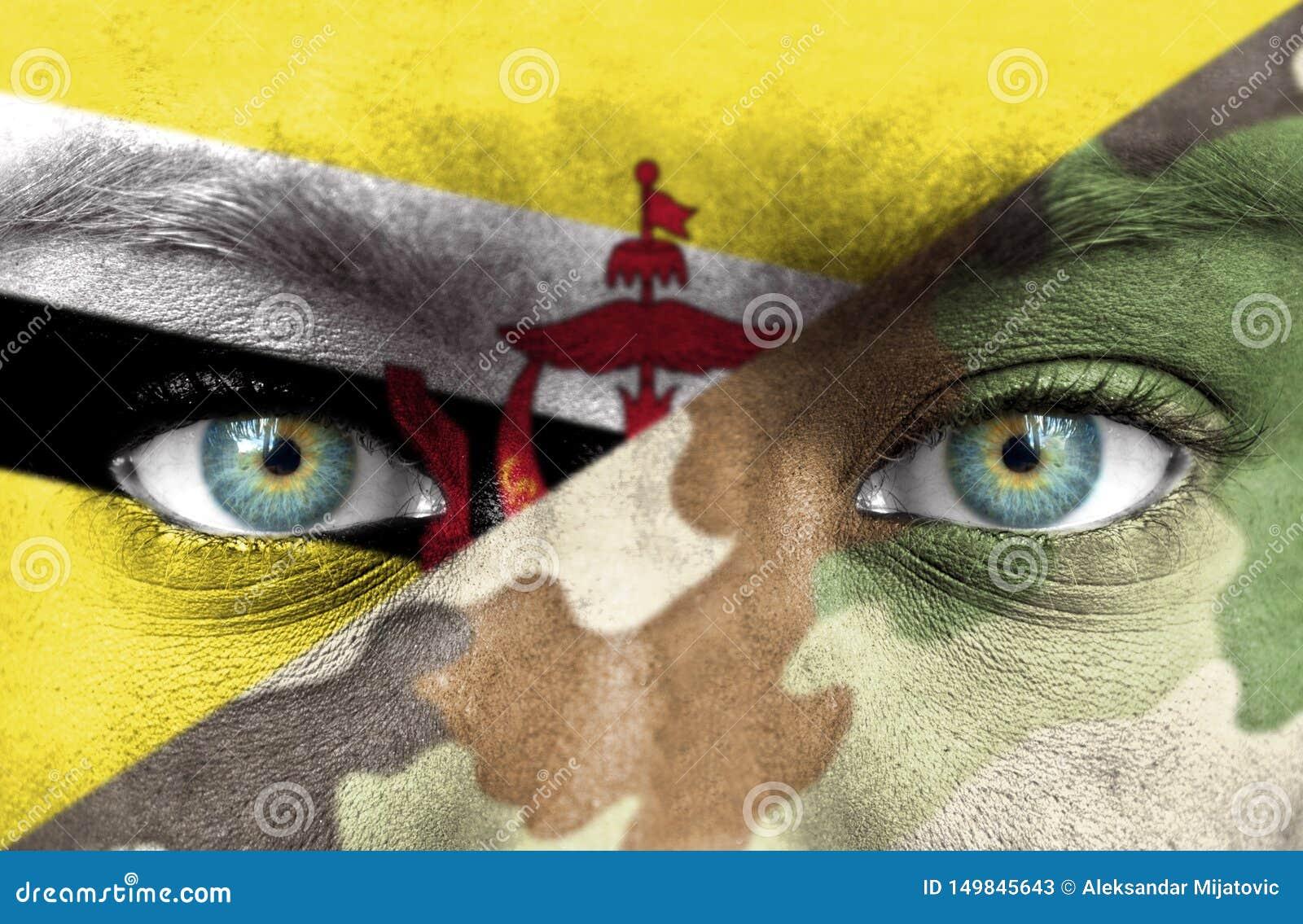 Soldado de Brunei Darussalam