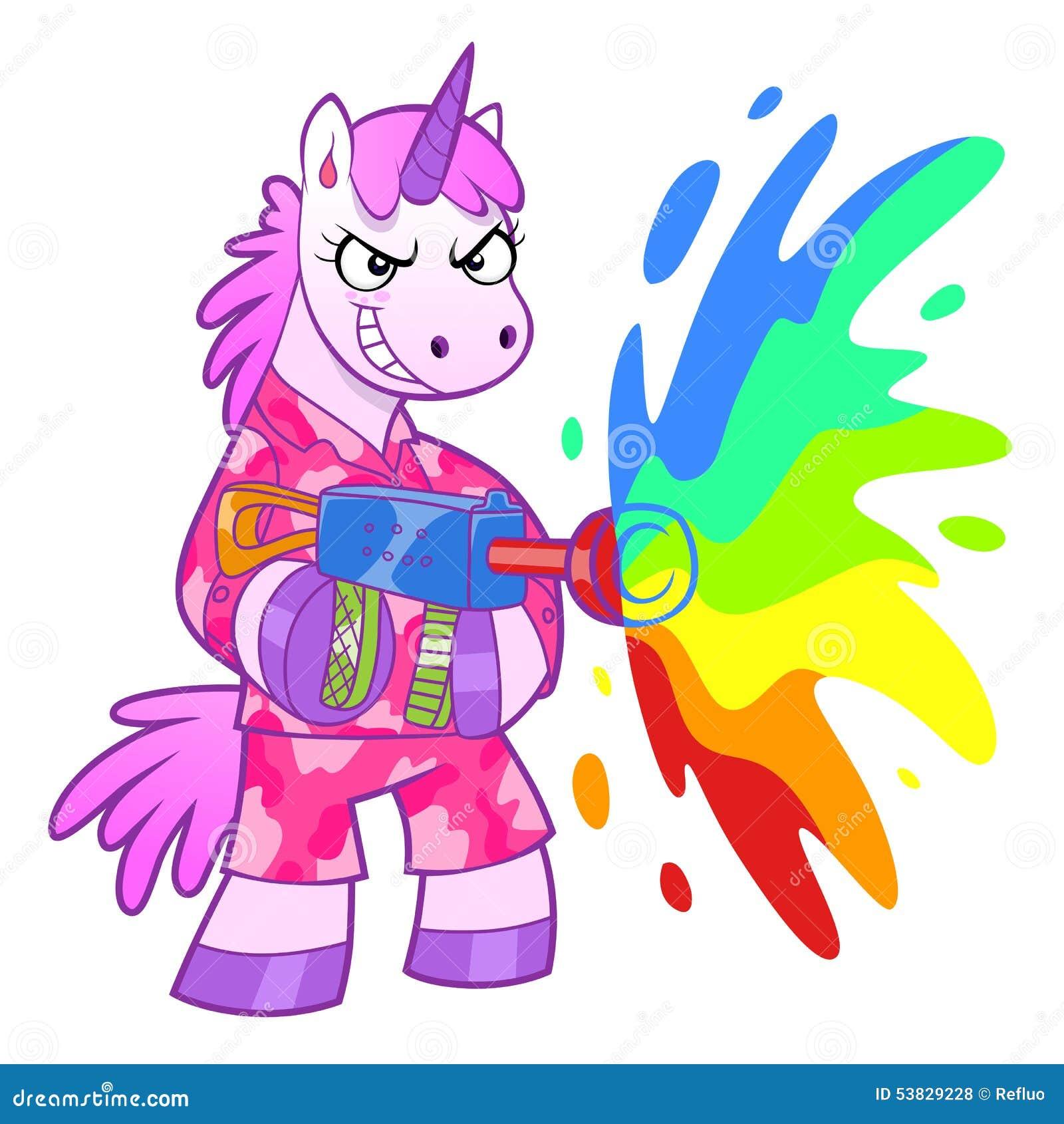 Soldado del unicornio