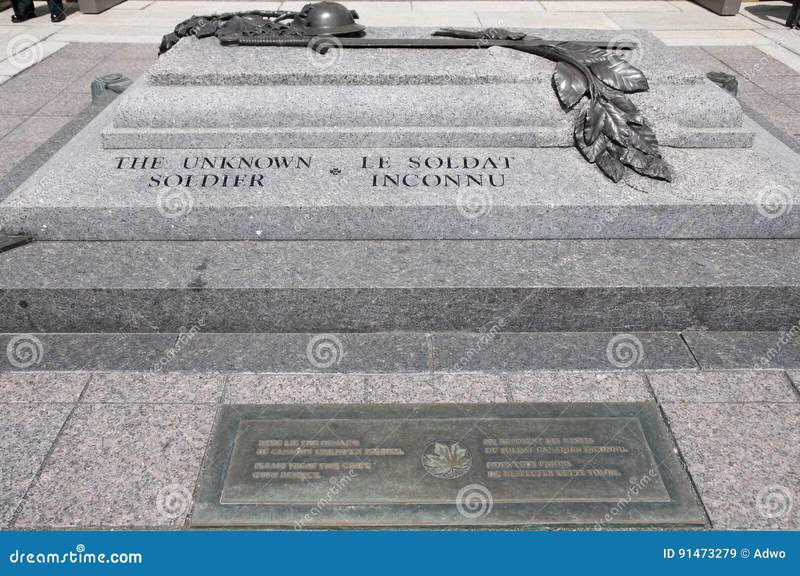 Soldado desconocido Grave - Ottawa - Canadá