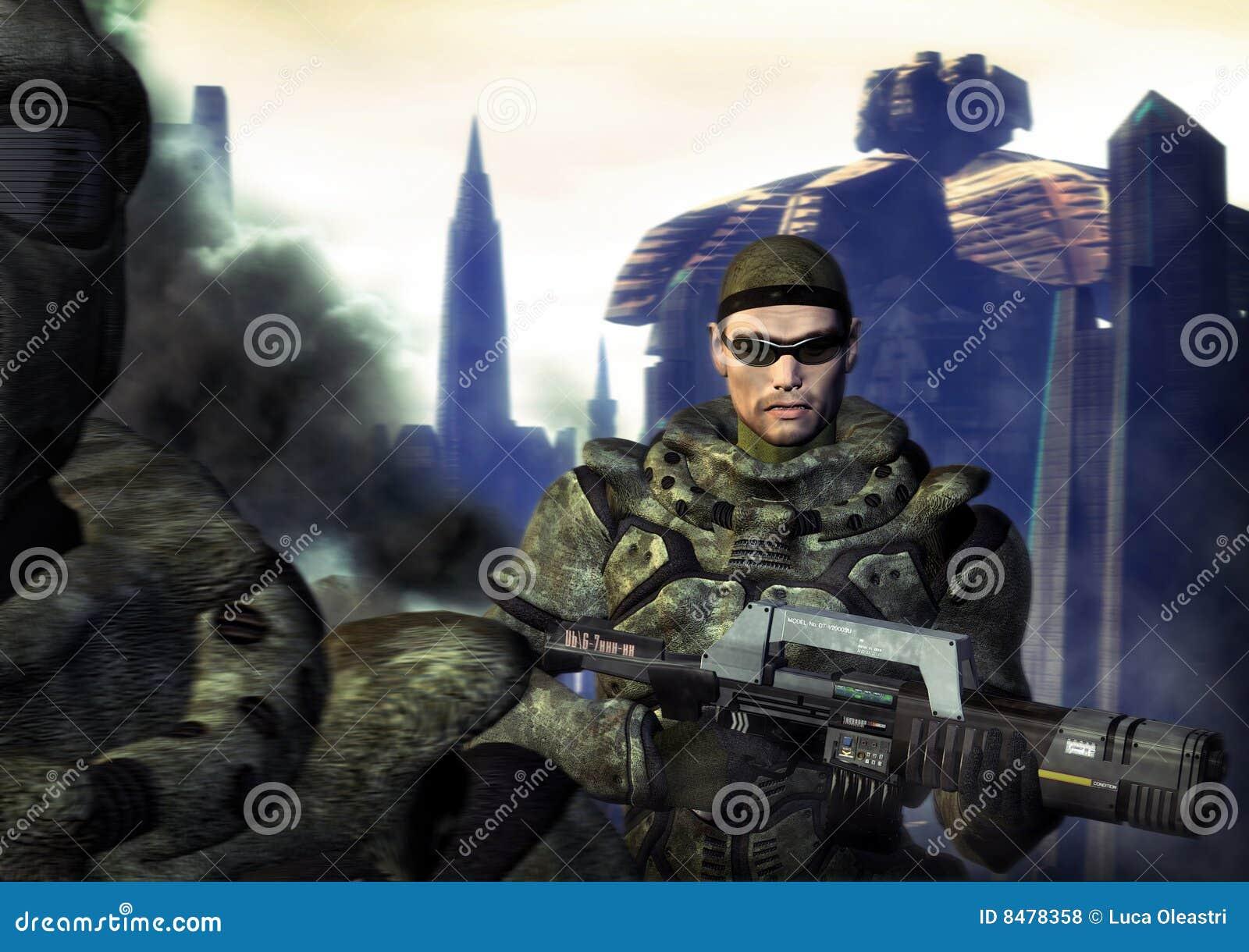 Soldado futurista