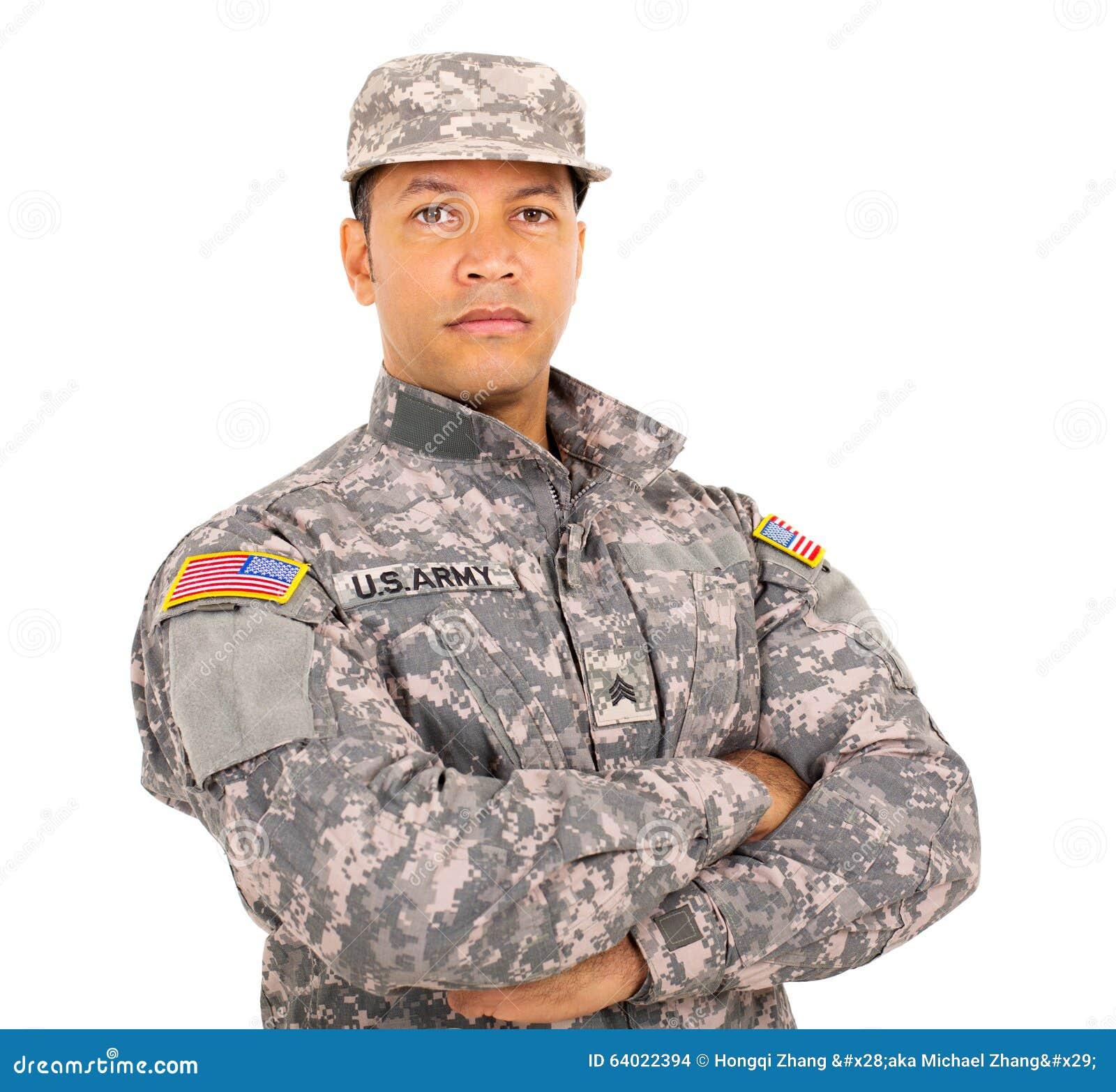 Soldado militar americano