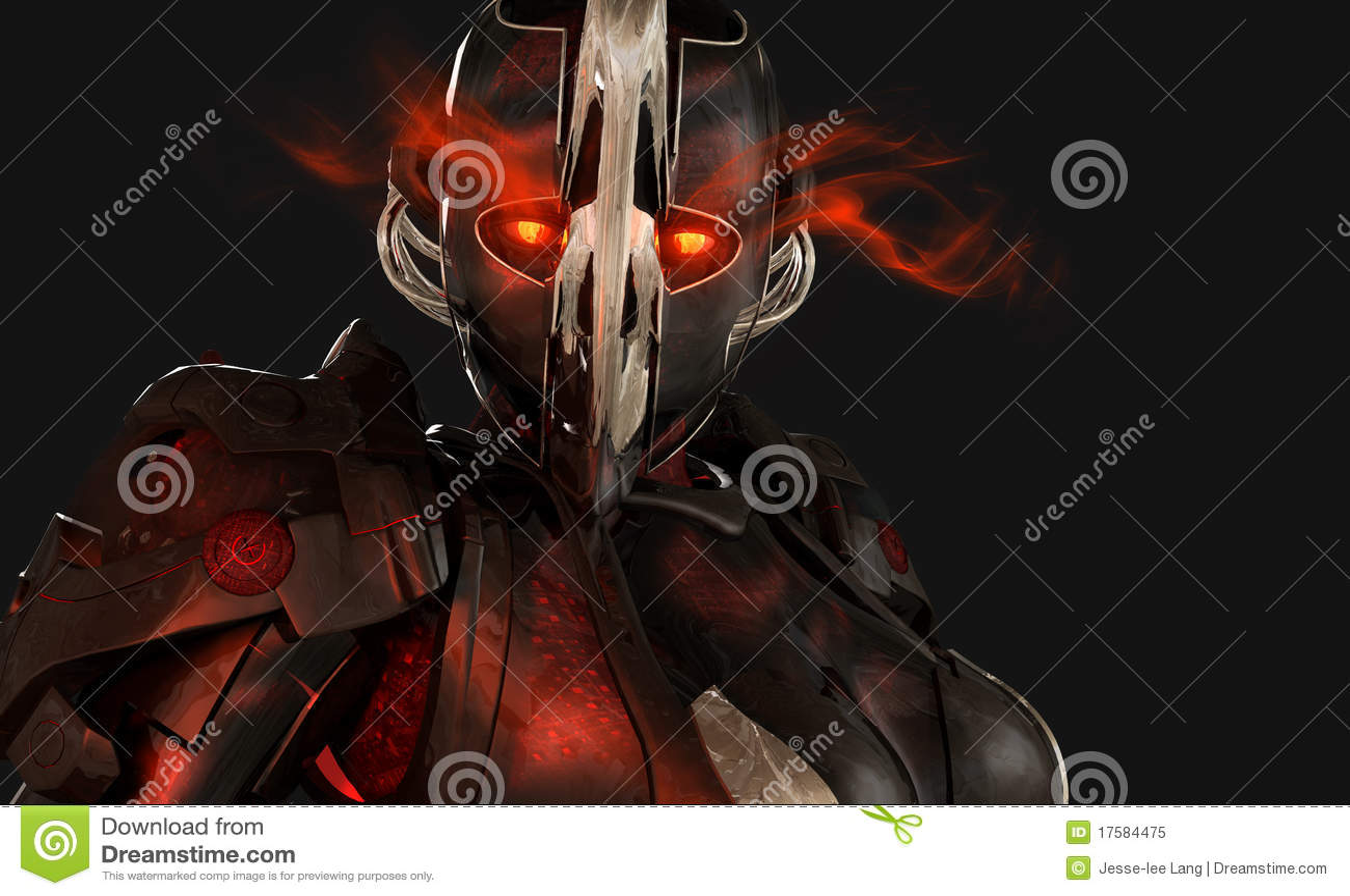 Soldat avancé de cyborg