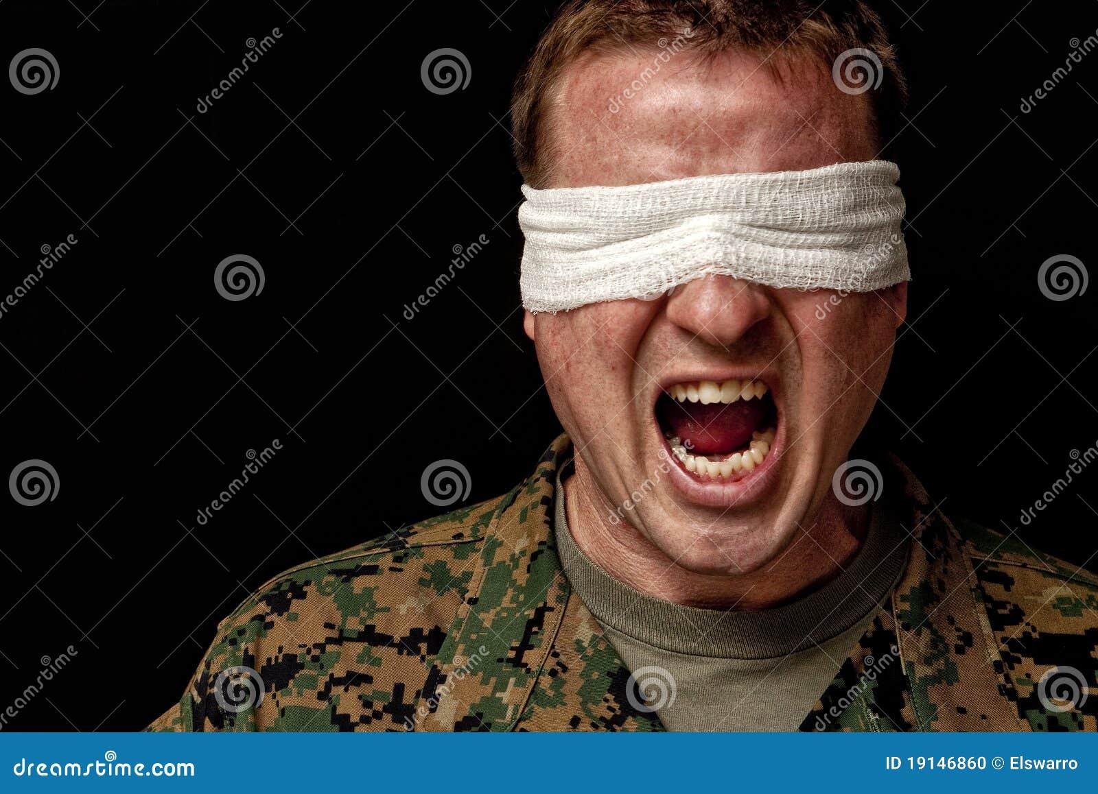 Soldat leidet unter PTSD