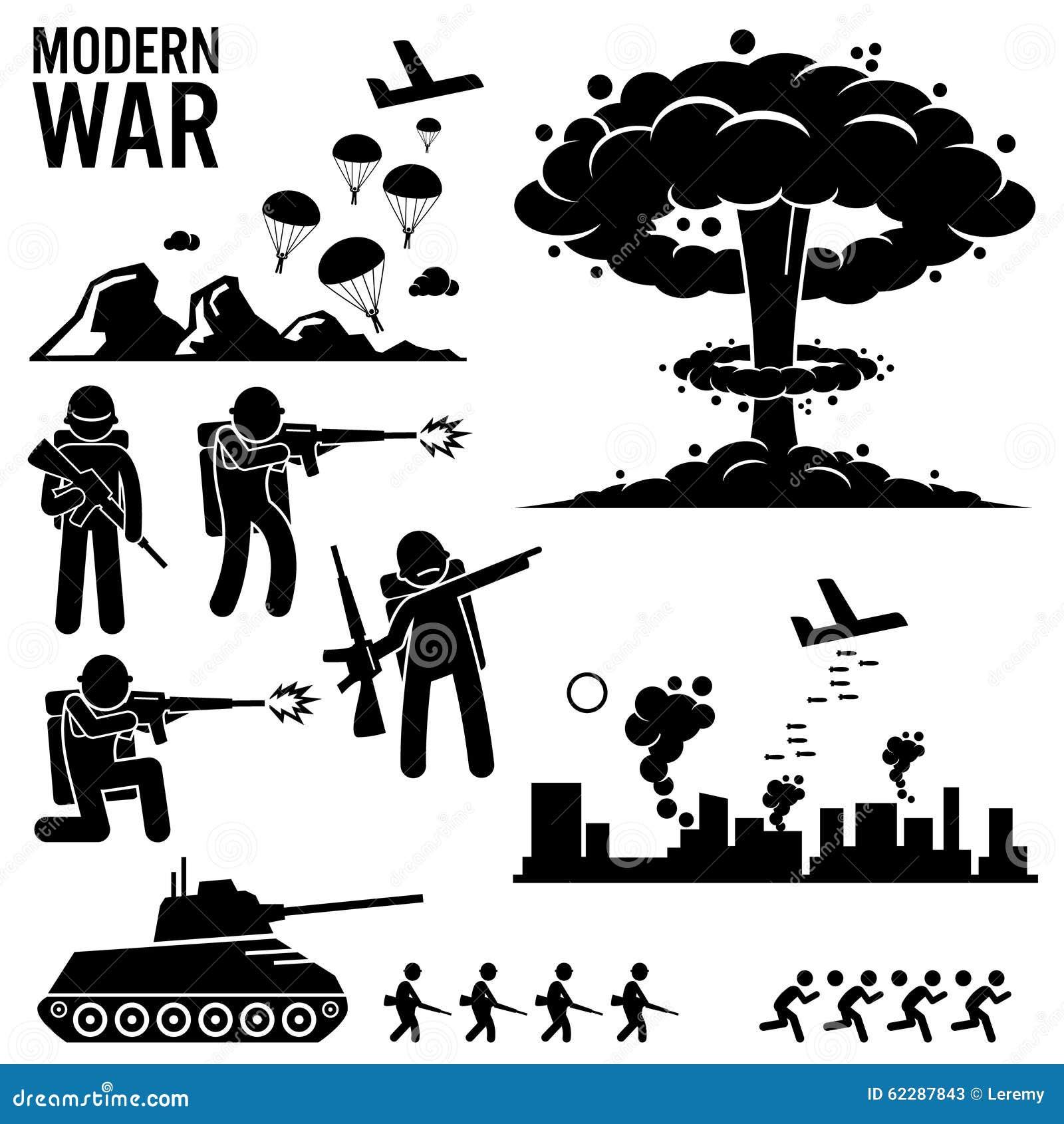 représentant la guerre mondiale moderne Le soldat d'armée parachute ...