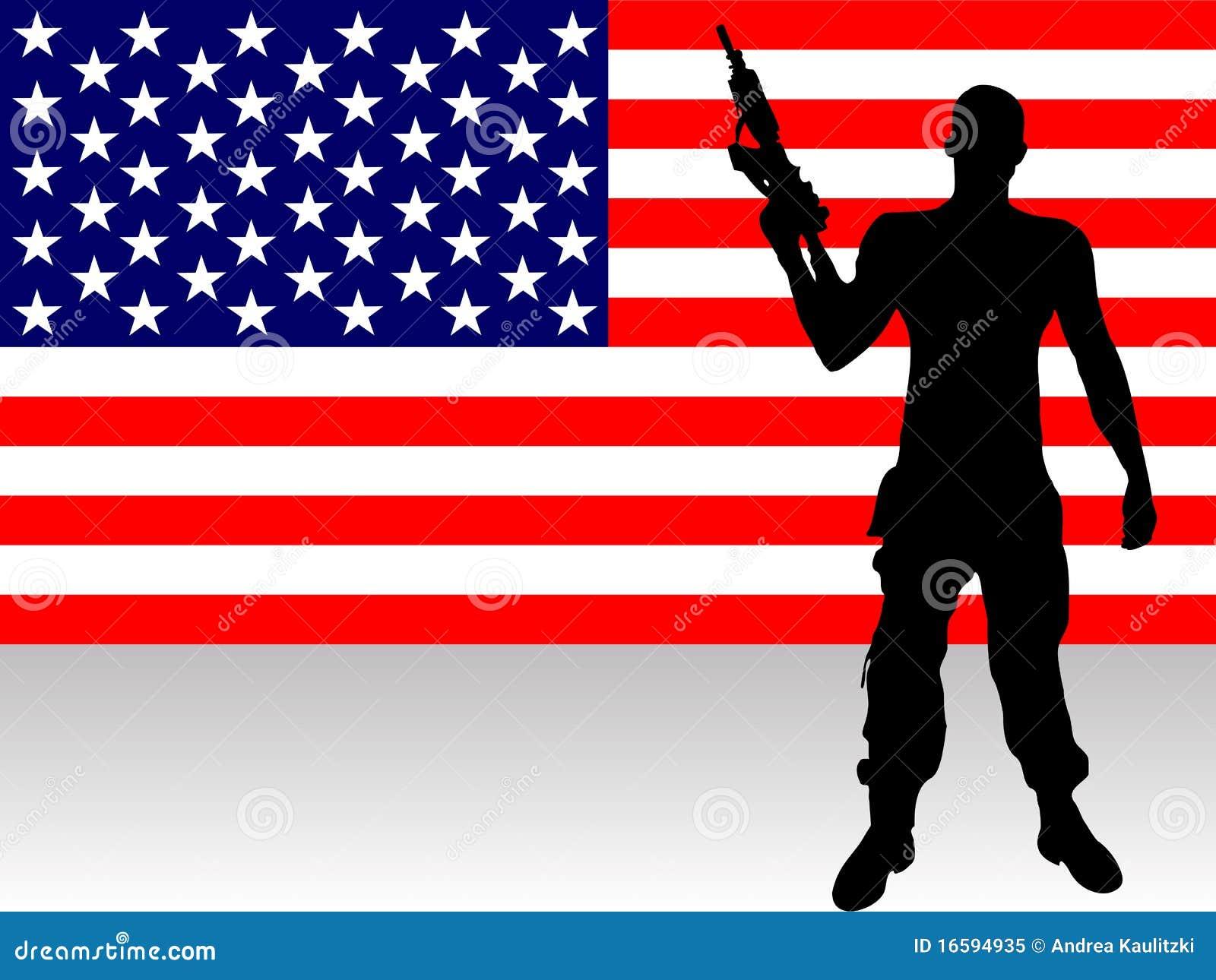 Soldato con la pistola
