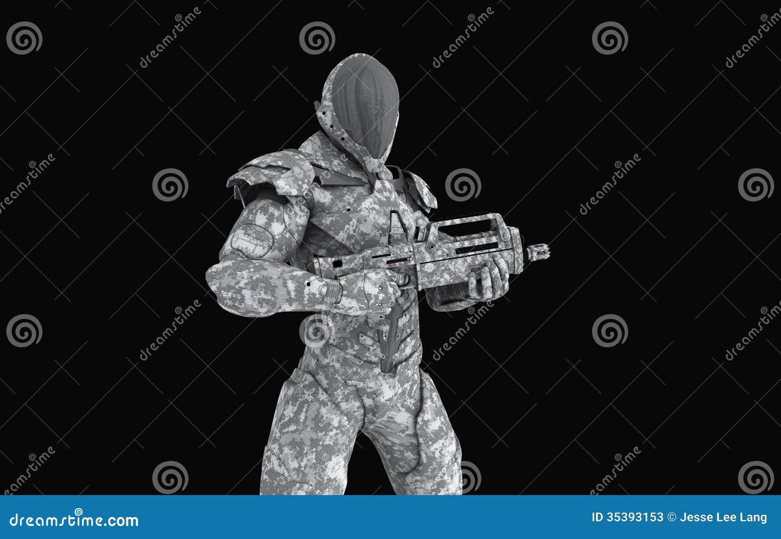 Soldato eccellente avanzato