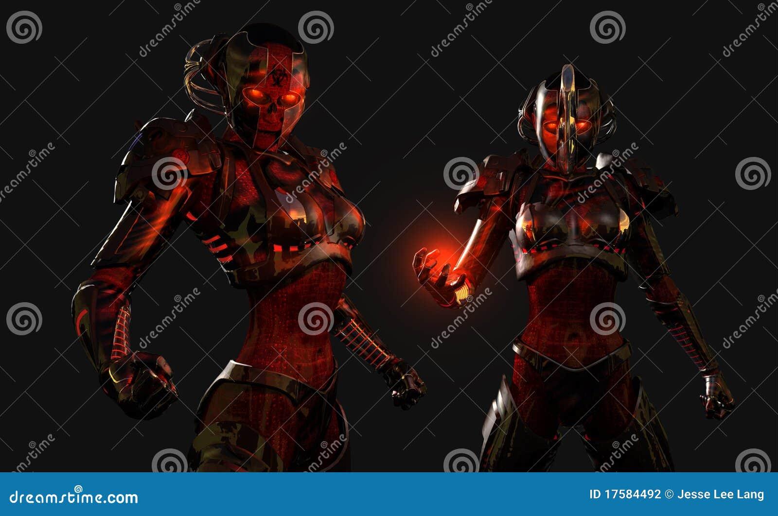 Soldats avancés de cyborg