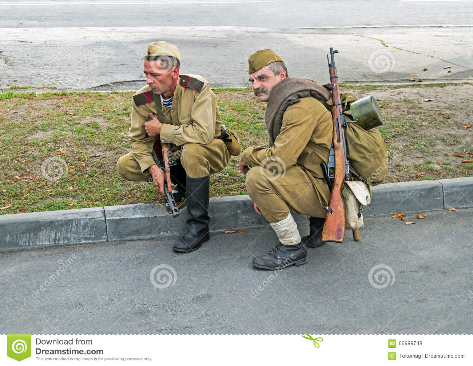 Soldats d armée rouge