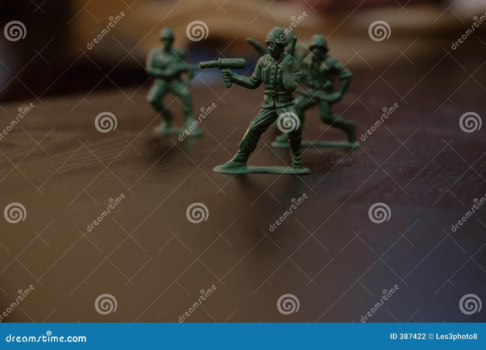Soldats de jouet