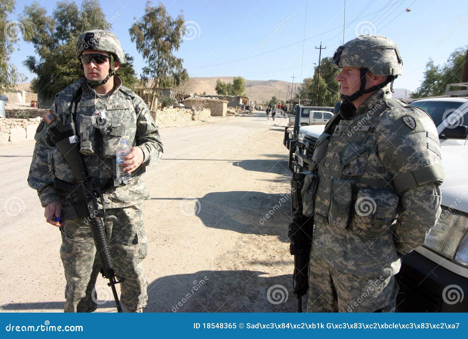 Soldats de l armée américain